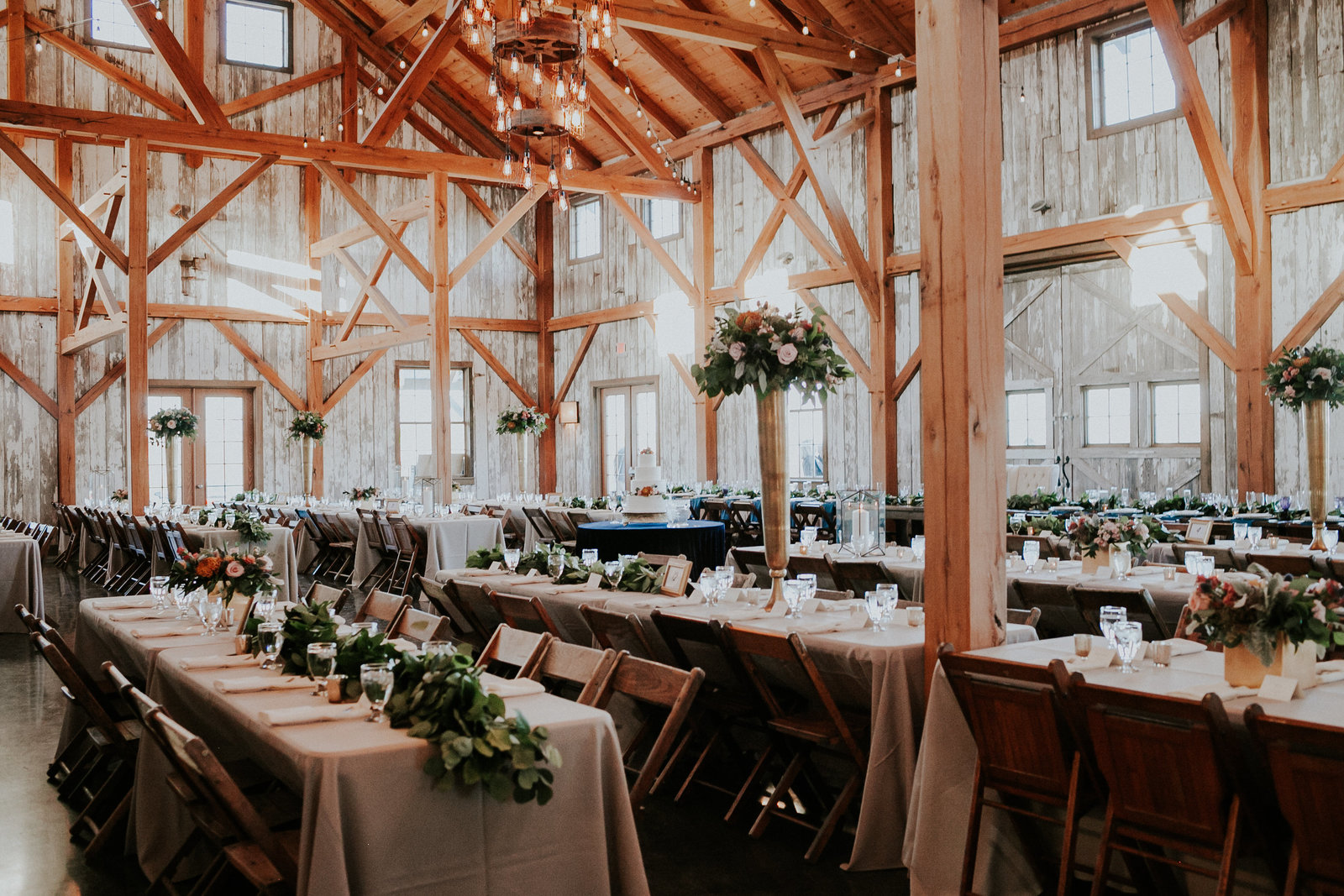 Reception+Venue+Timber+Barn+Weston