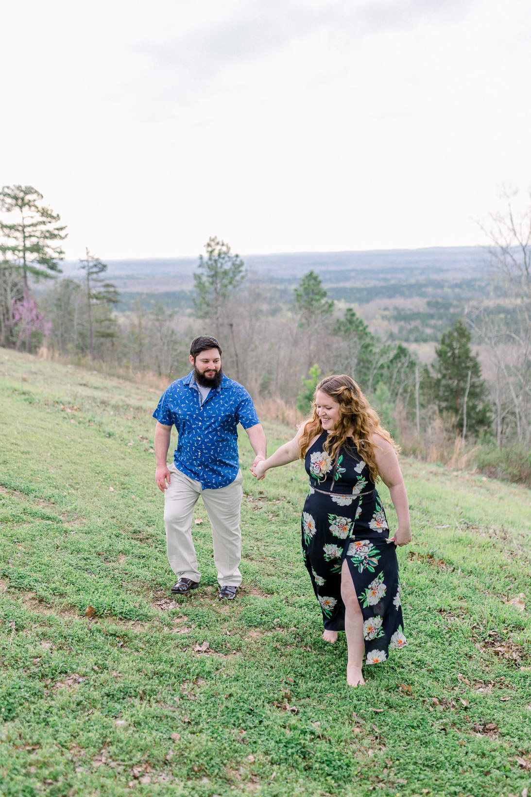 Pine Mountain Engagement Session Georgia Adventure-12