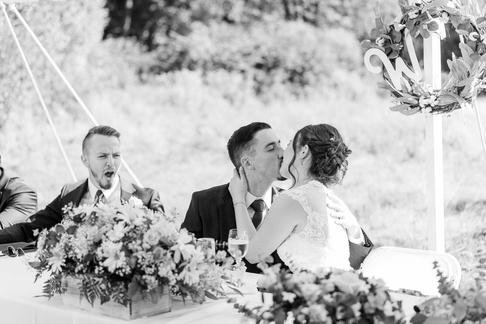 Light and Airy Keene NH Wedding -1-7