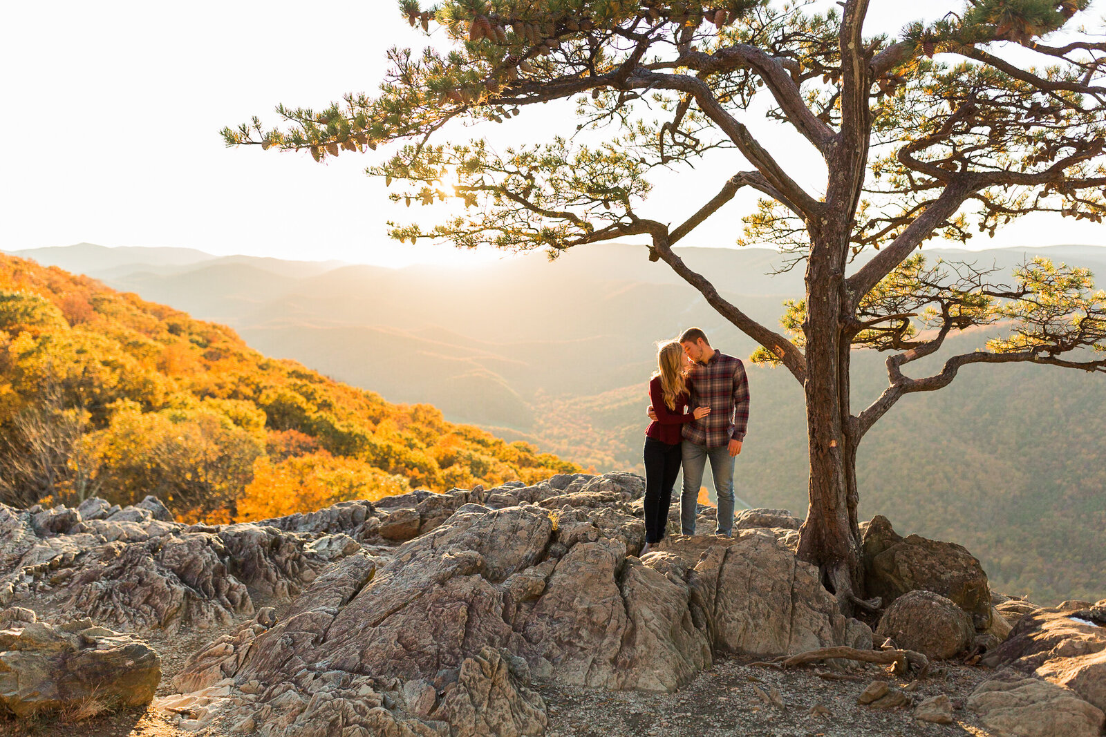 Fall Mountain Engagement Session in the Shenandoah Valley-25