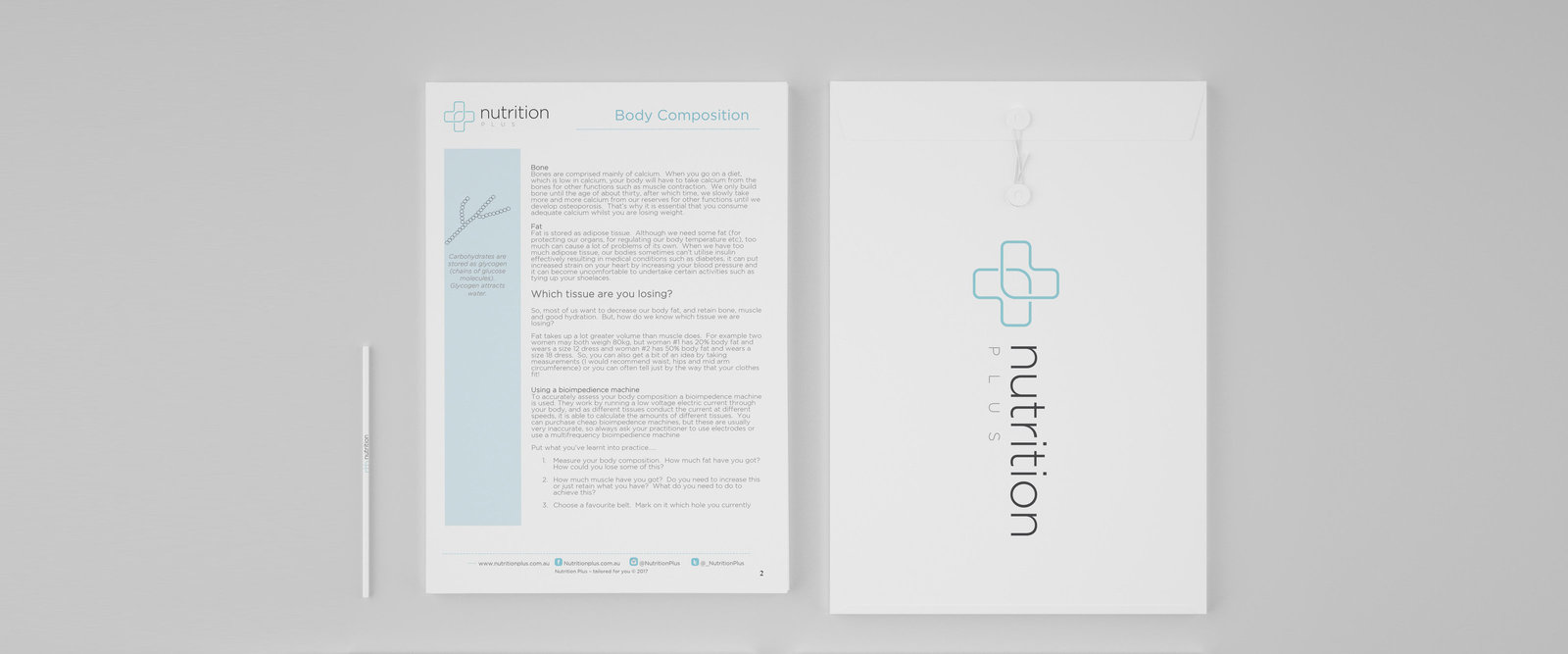 Stationery for Health and Nutrition