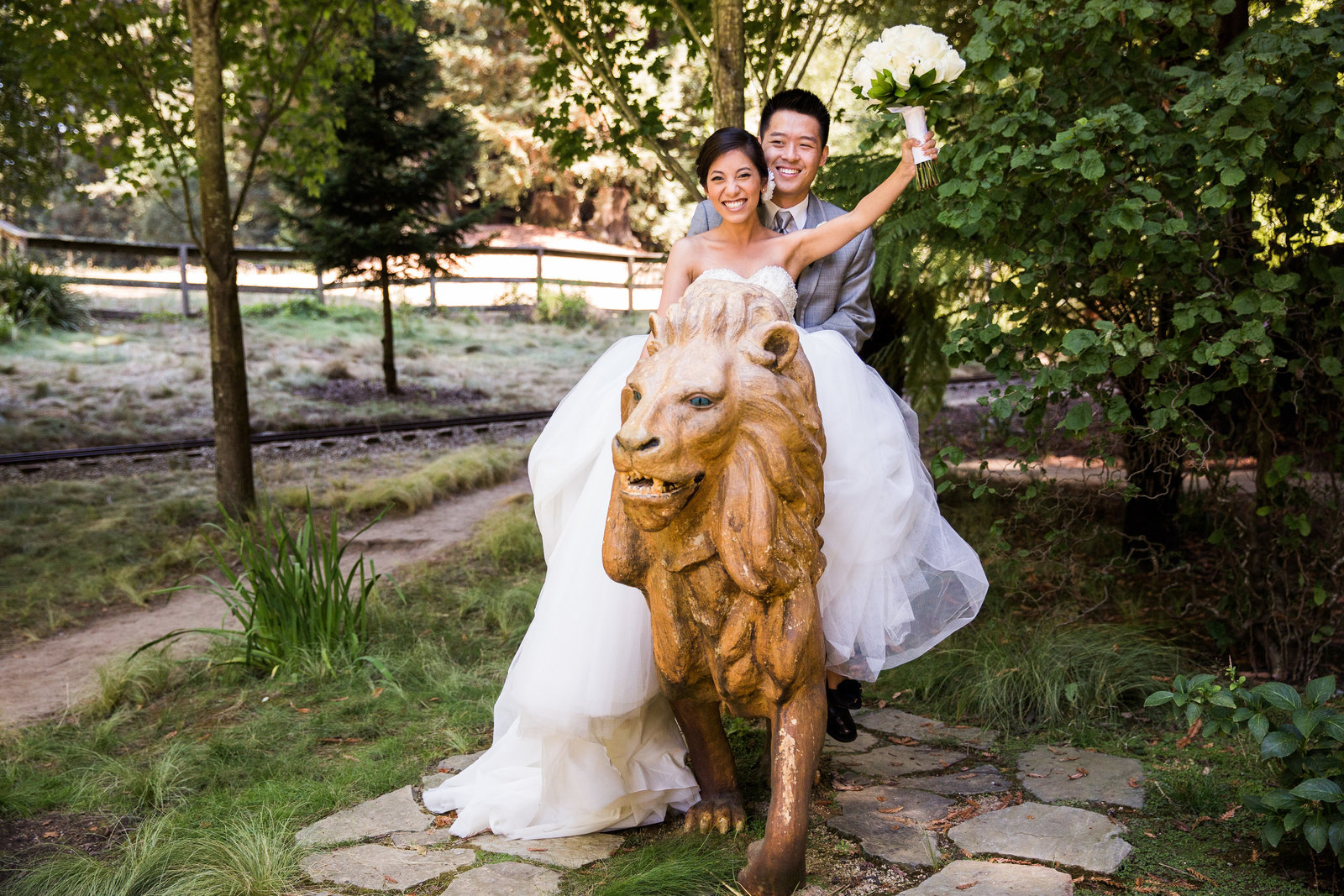 nestldown wedding forest los gatos california 2