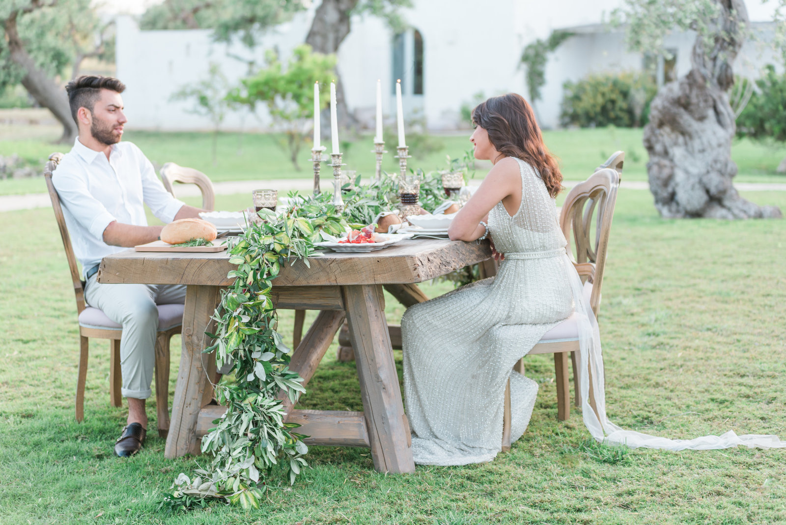 A styled wedding photoshoot in Puglia Italy