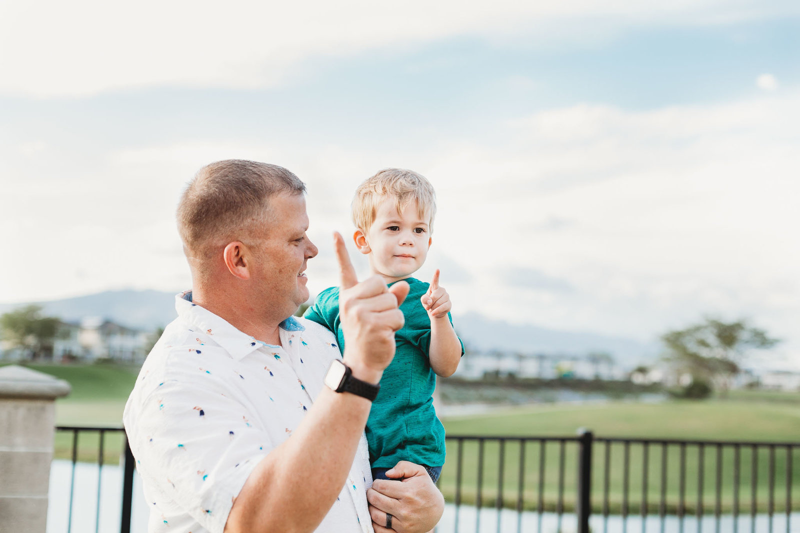 Oahu, Hawaii Lifestyle Photographer - Lifestyle Photography - Brooke Flanagan Photography - Father and Son Full color