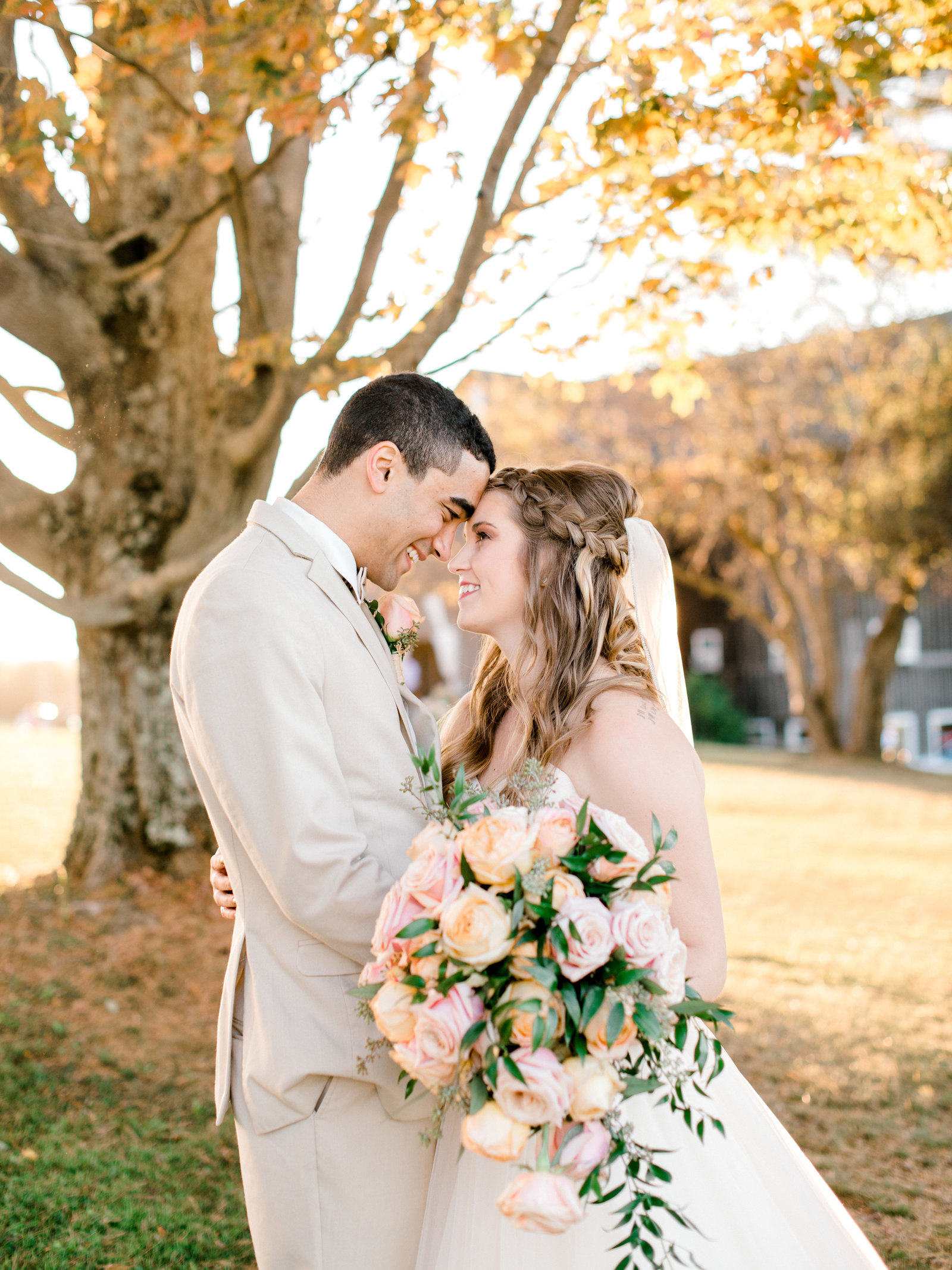 dreamy fall light at erie pa fall wedding