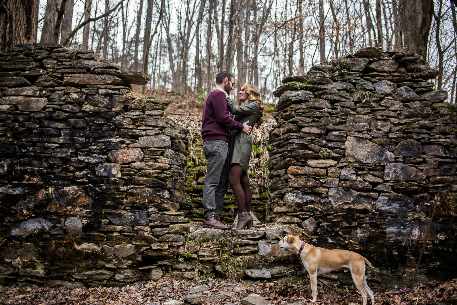Sope Creek Engagement Session
