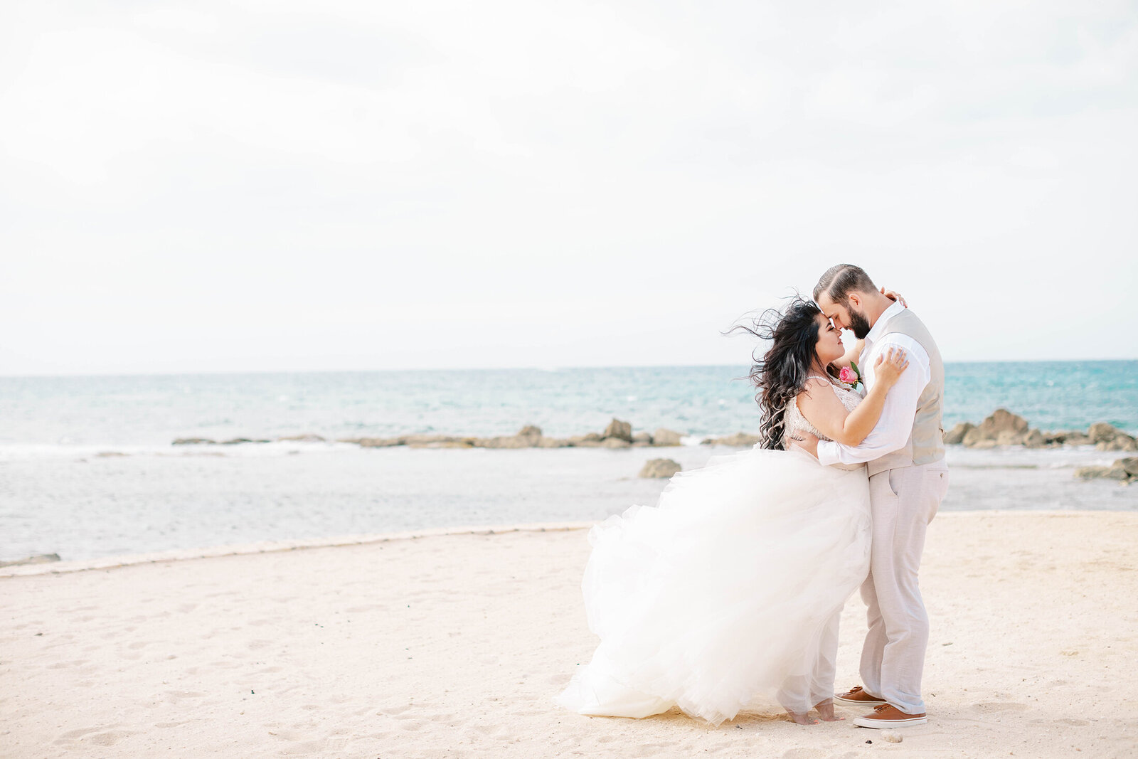 Jenny King Photography - Morgan & Stevie Martin - Destination Wedding - Melia Braco Village - Jamaica - Destination Wedding Photographer - 28