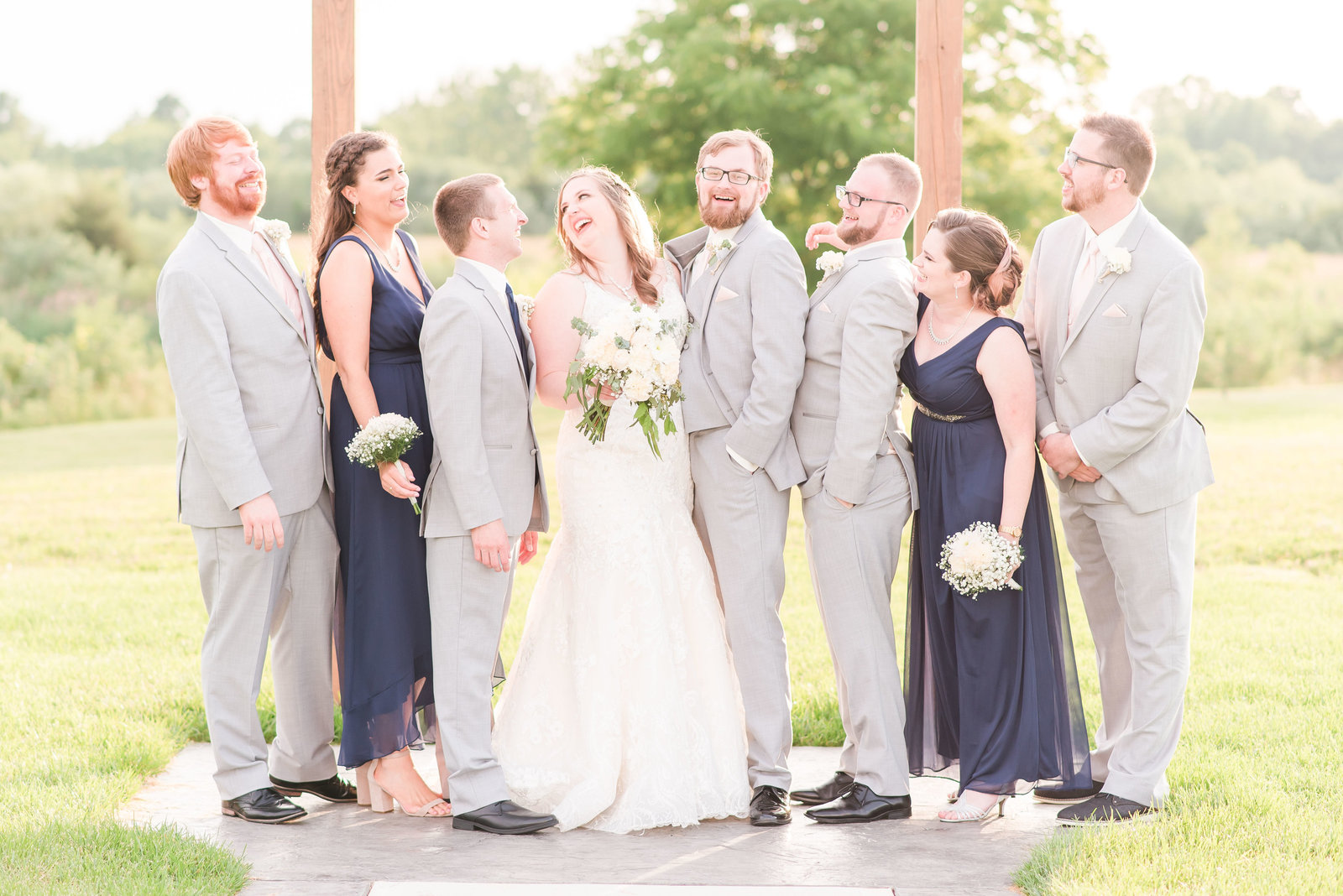 Navy Wedding at Sycamore Winery