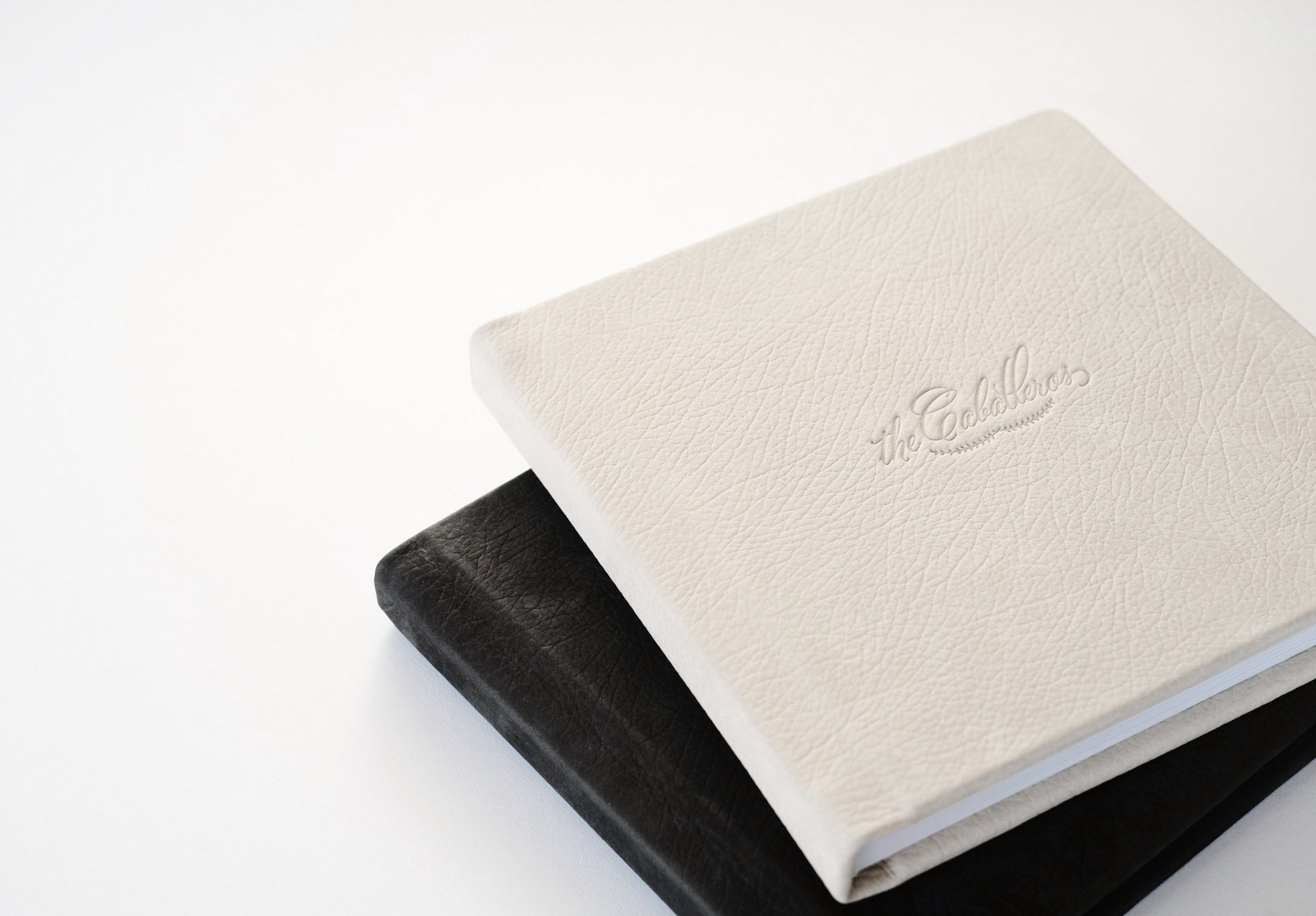 Custom Wedding Legacy Heirloom Albums in Leather