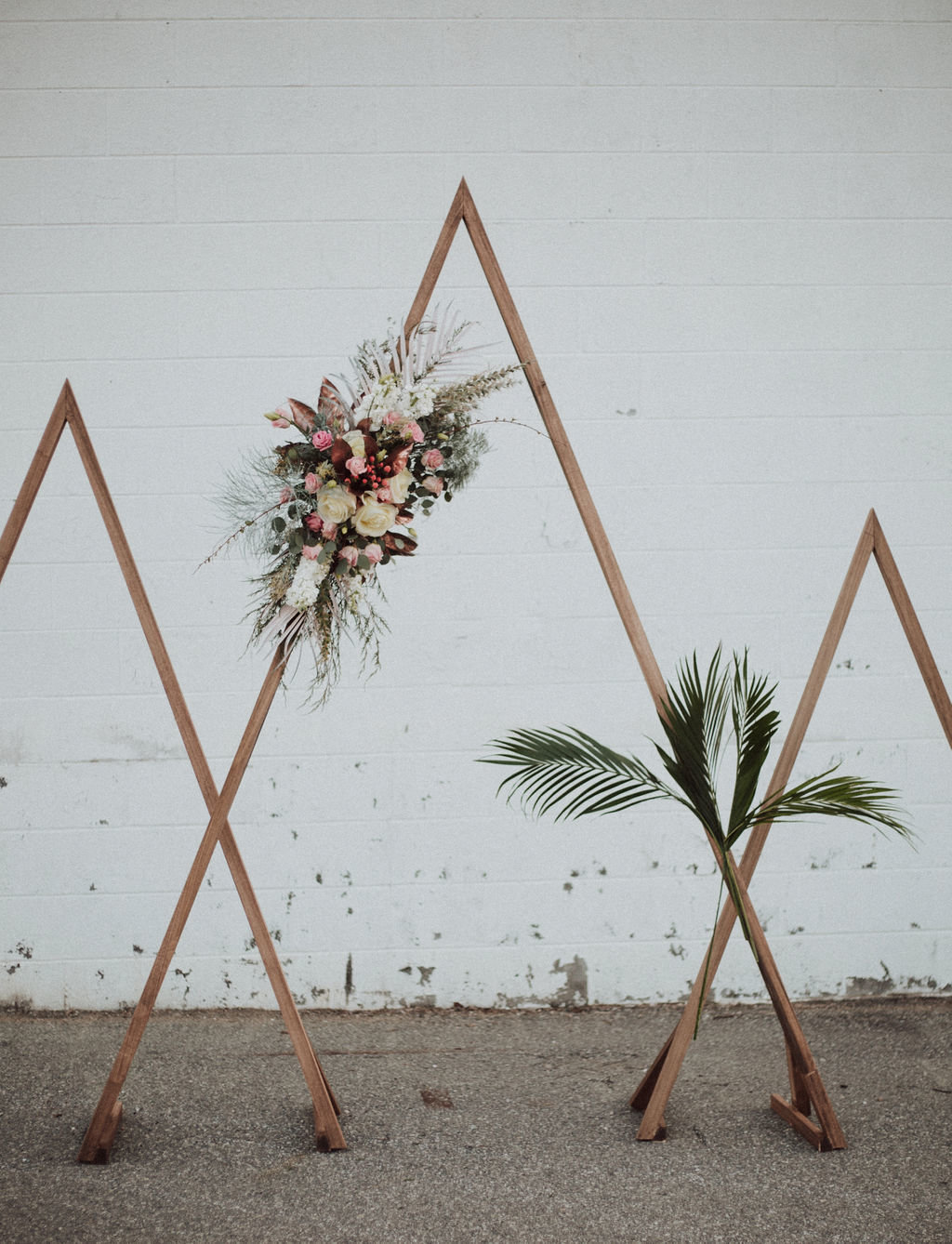 Triangle Wedding Arbors