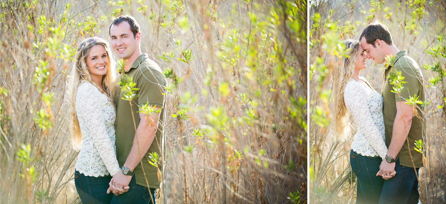 Mission Trails engagement photos beautiful outdoor field