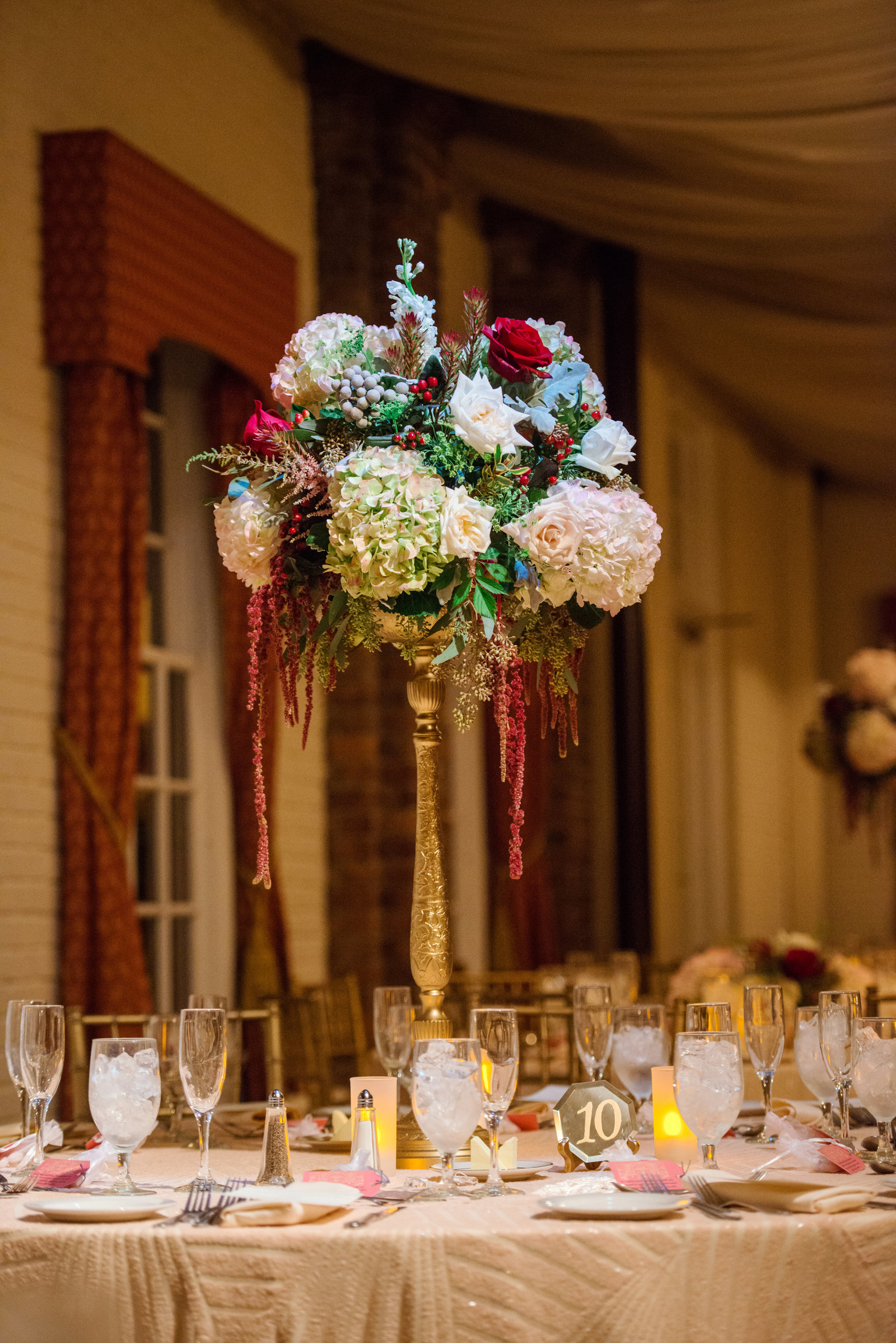 Winter wedding at Coindre Hall