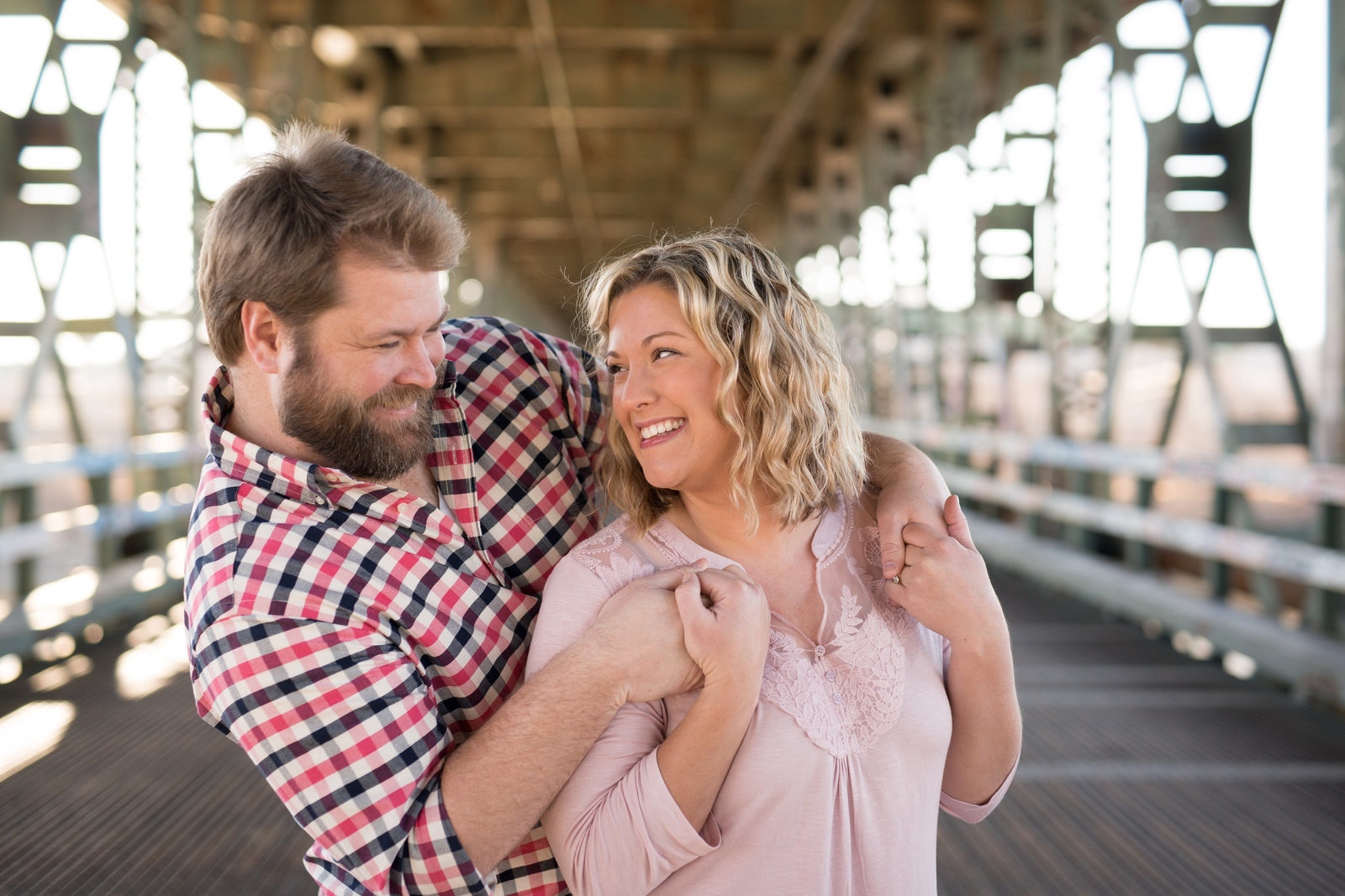 West bottoms wedding photographer. KC west bottoms engagement photos.