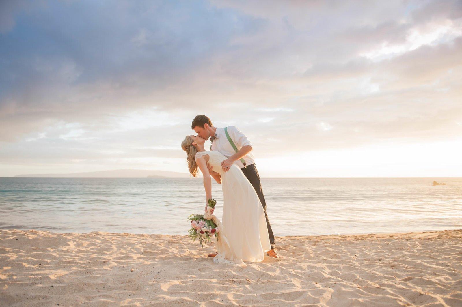 Simple Maui Wedding Logo Blog