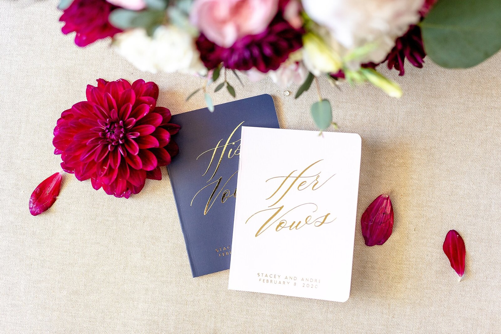 Vow Books | Four Seasons Wedding | Chynna Pacheco Photography