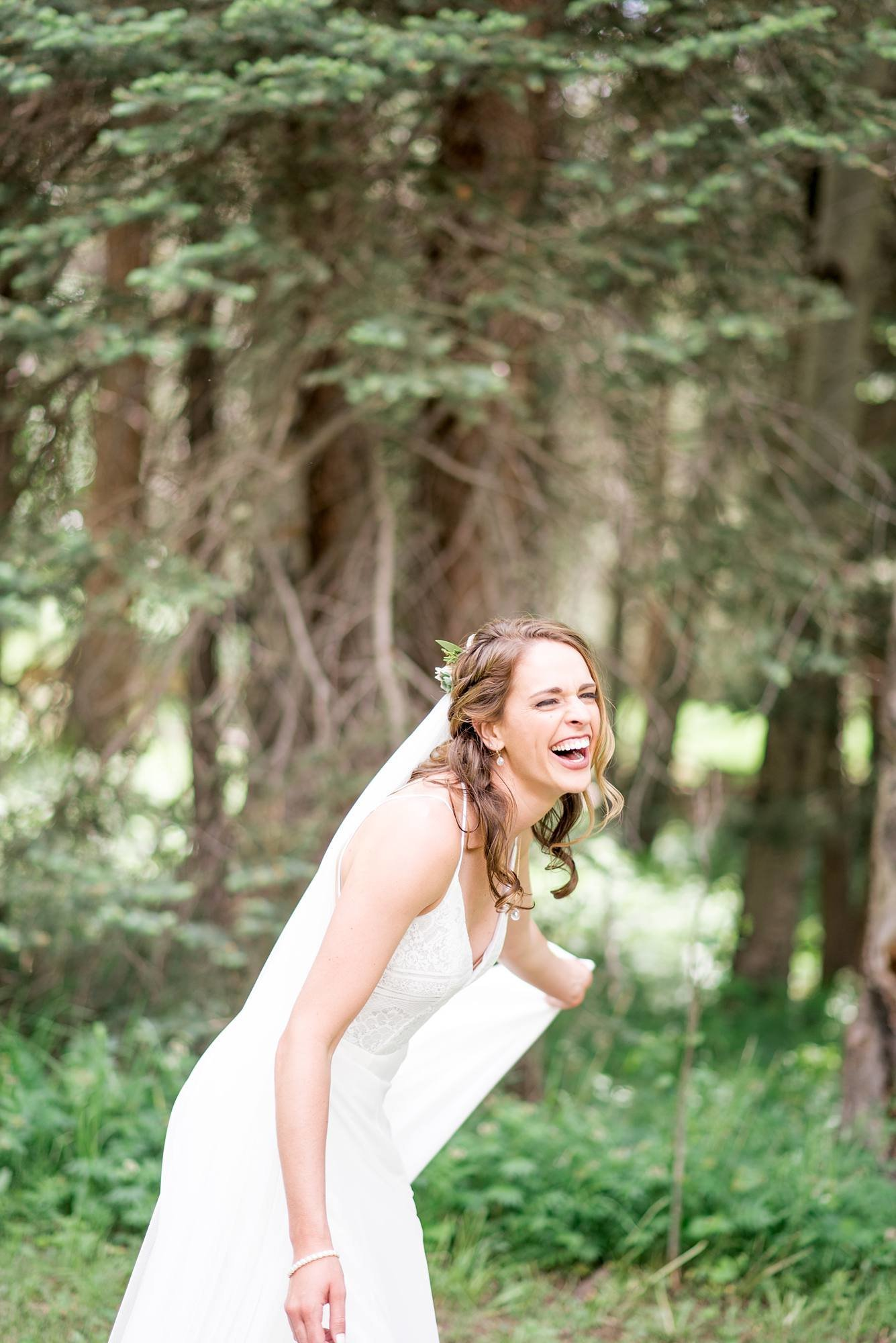 intimate wedding photographer colorado