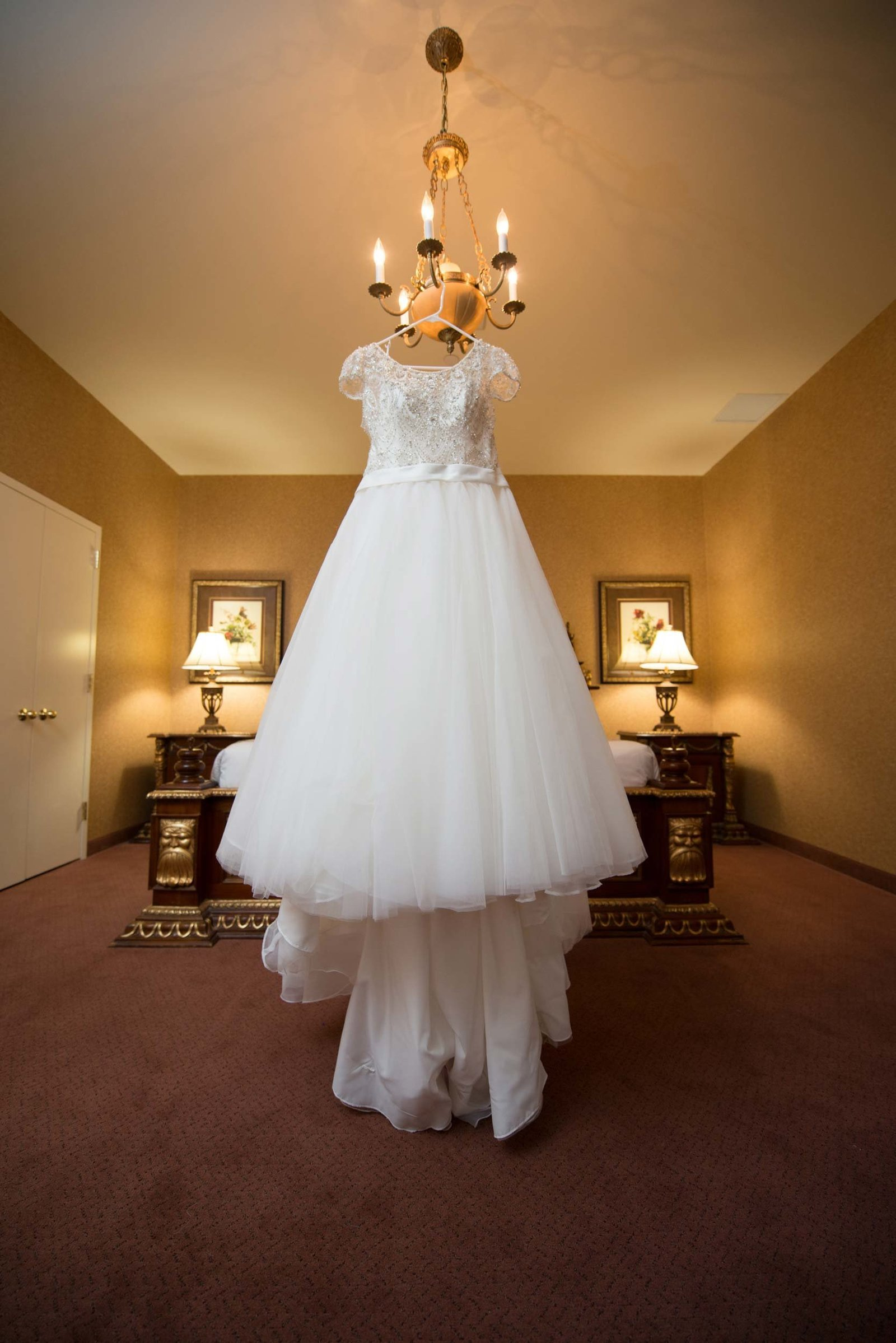 wedding gown at East Wind