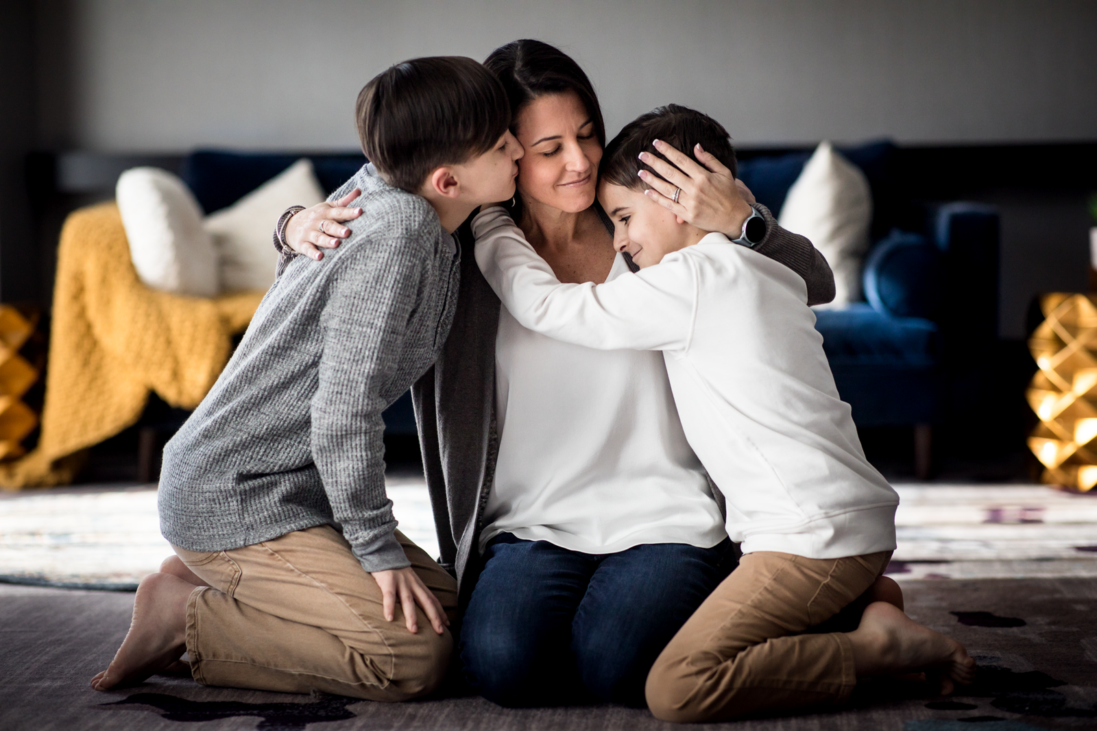 family photographer, columbus, ga, atlanta, wander years, mother hugging sons on floor, ker-fox photography_0792