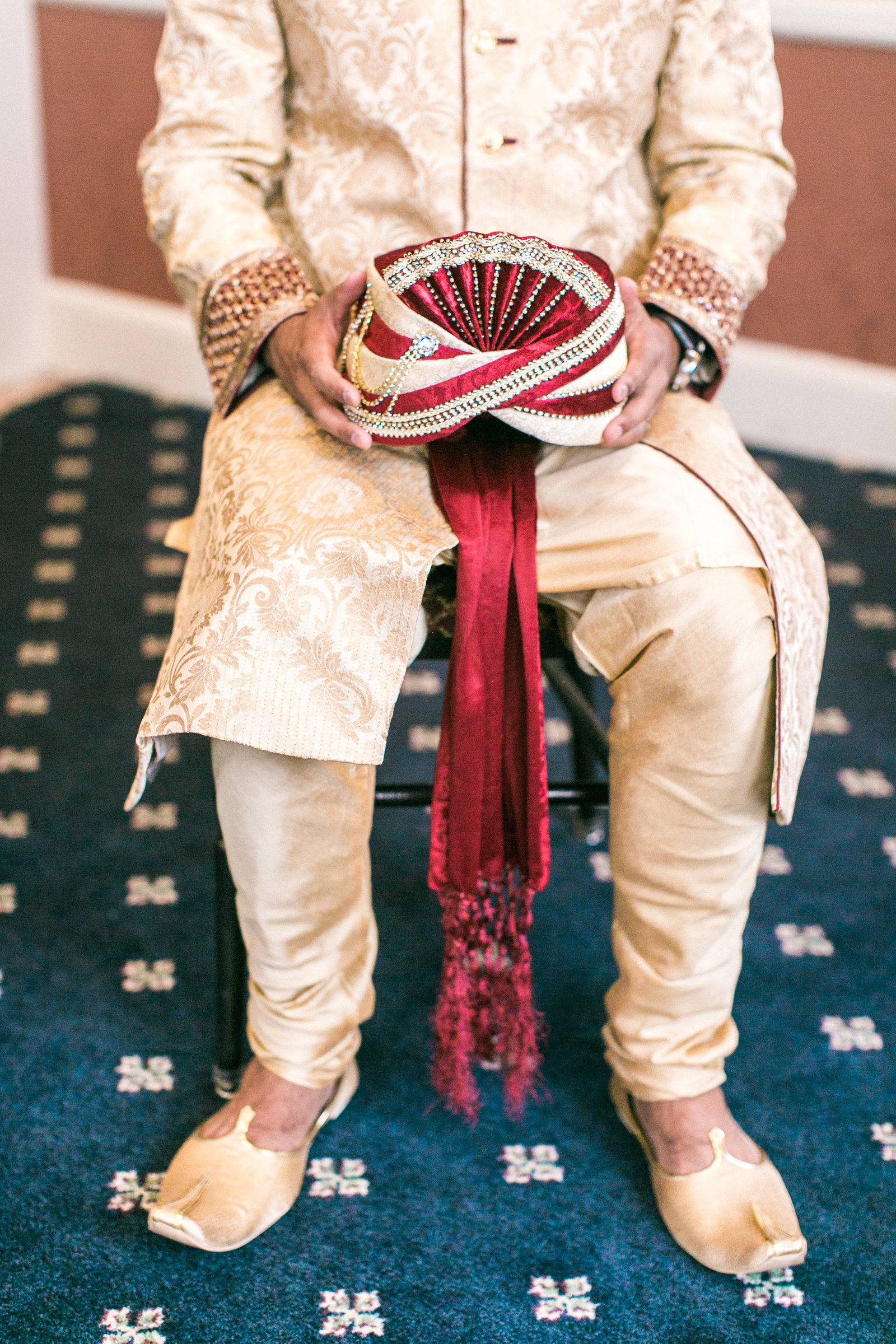 Christa O'Brien Photography Georgia Wedding photographer fine art film  indian wedding groom