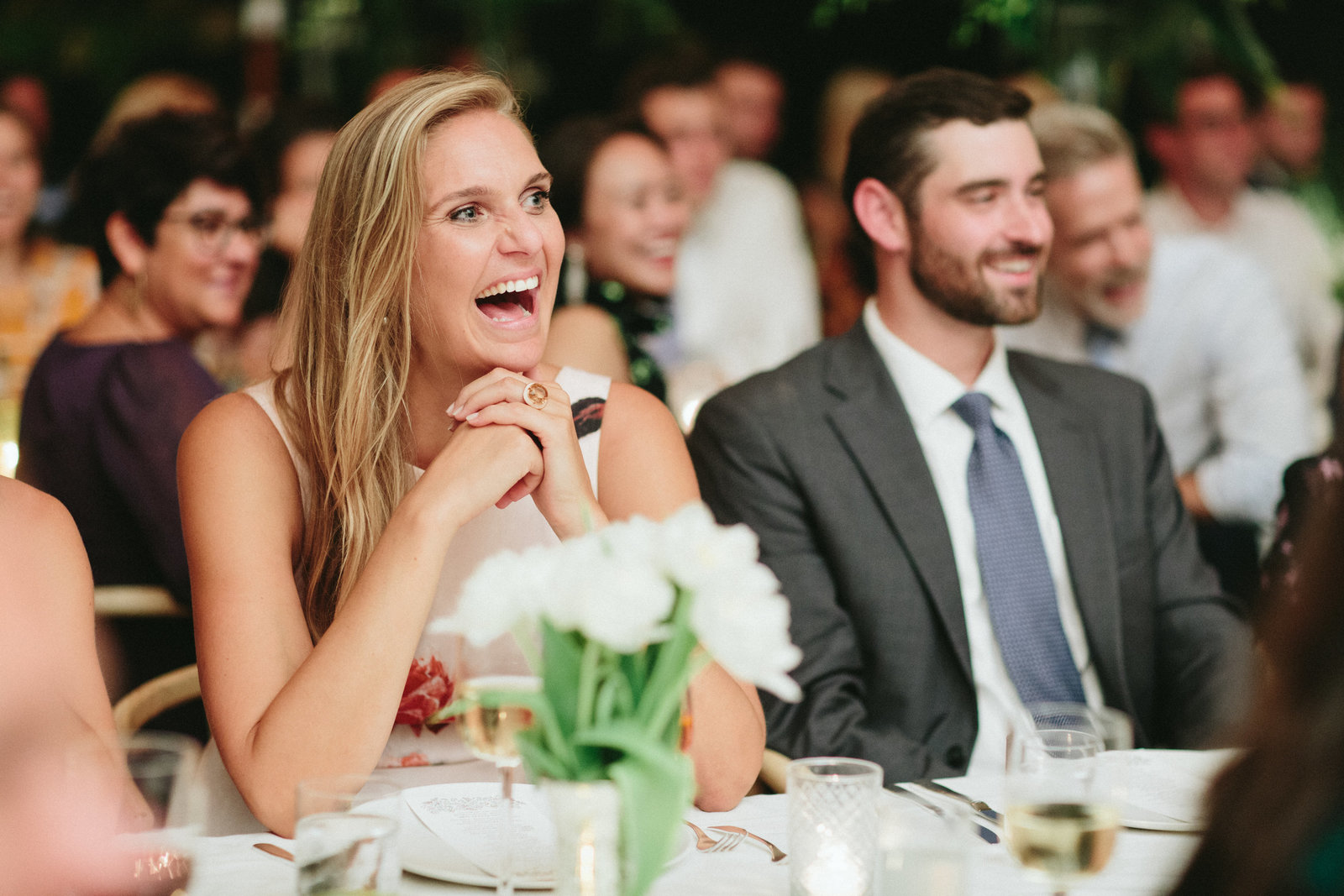 Memorable Wedding Speech_Tented Home Wedding_Boho Wedding_Darien_Connecticut_1