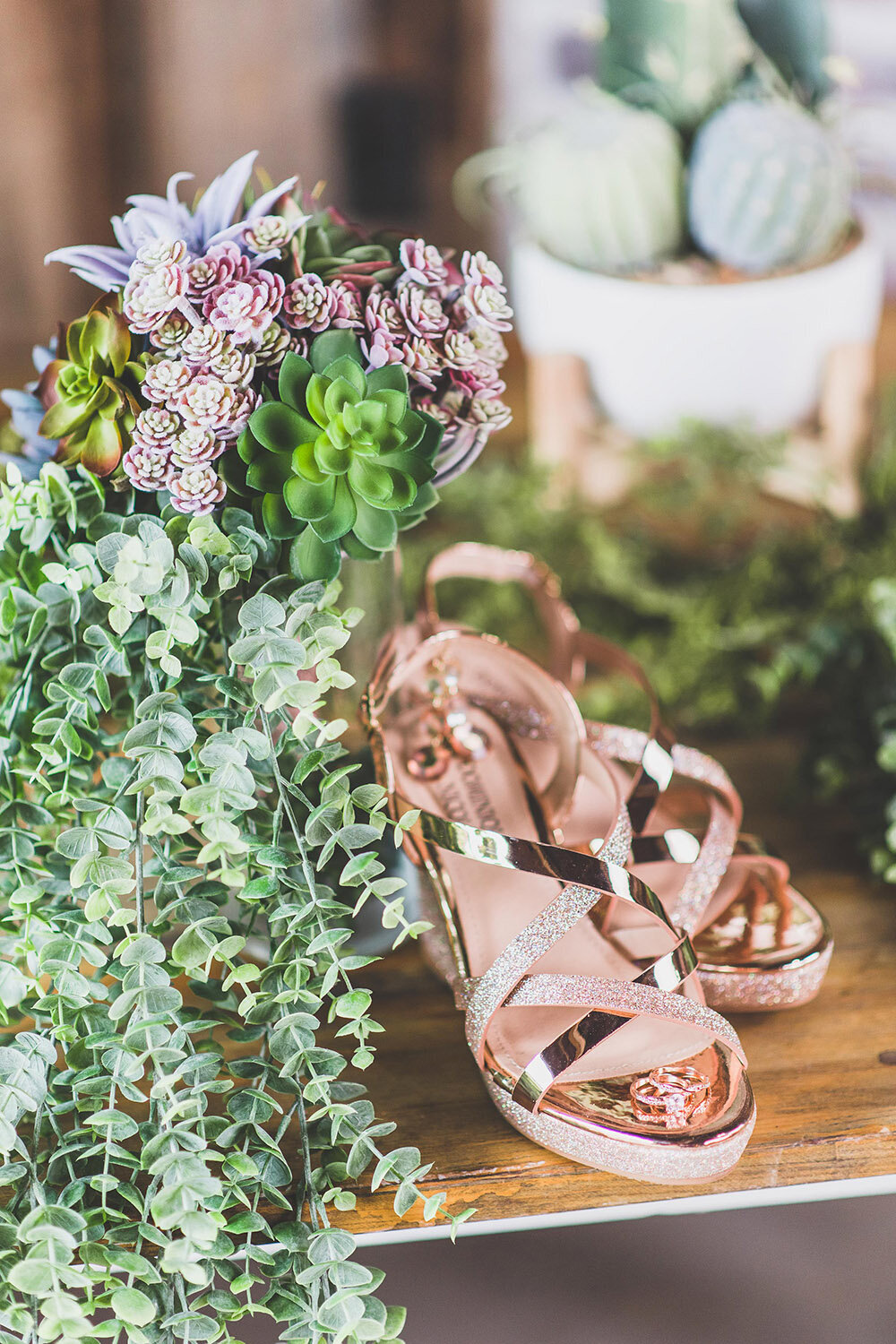 rose gold succulent wv photographer-55