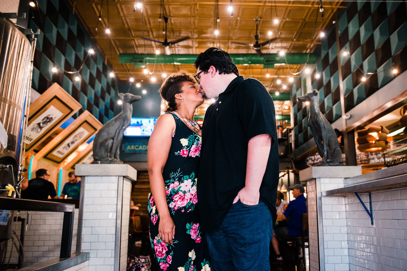 Huntington-WV-Brewery-Engagement-Photos