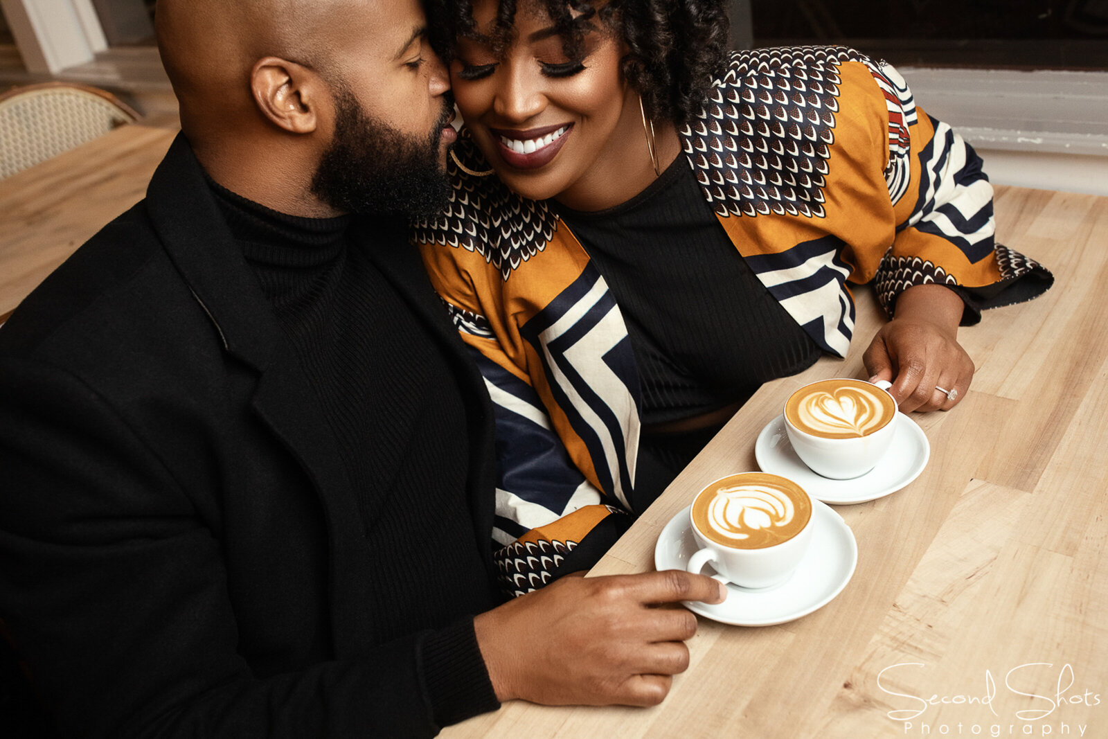 061 Hot Cocoa Themed Engagement Photos