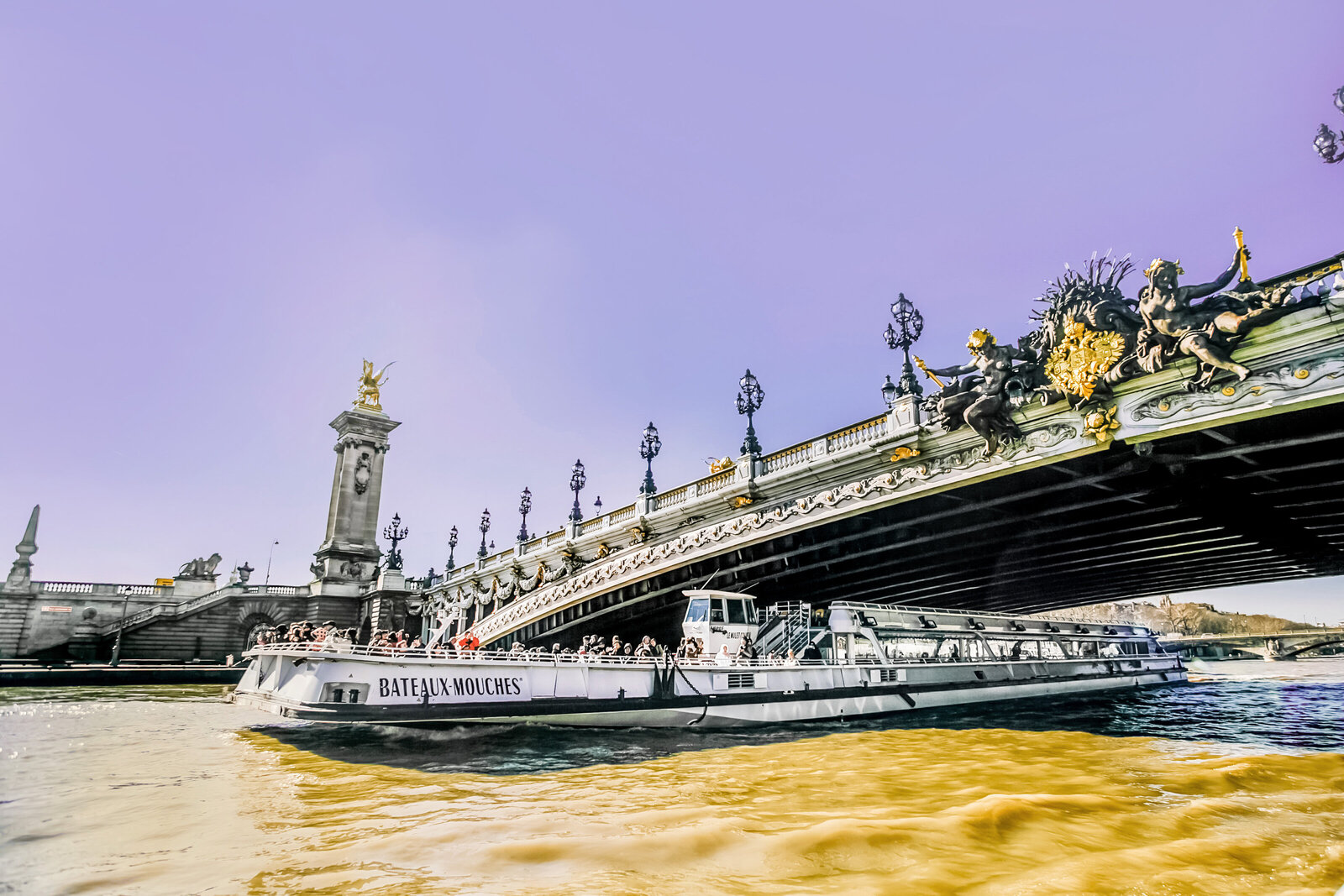 076-KBP - Seine-River-Boat-Paris-France