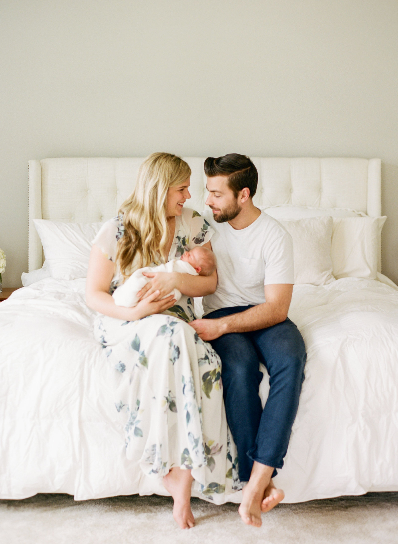 Wake Forest NC Film Newborn Photographer