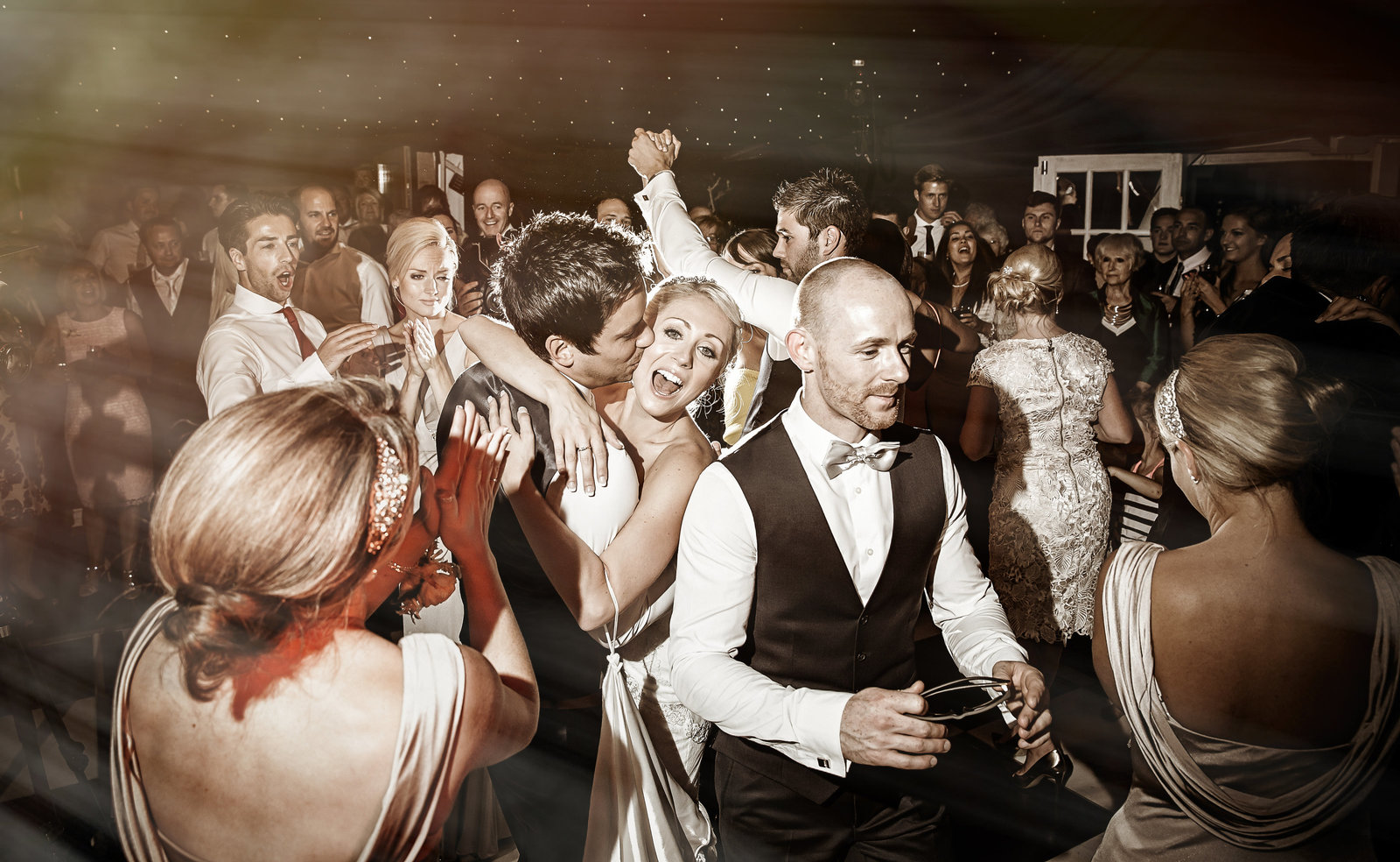 Wedding dancing at the Finch's Arms