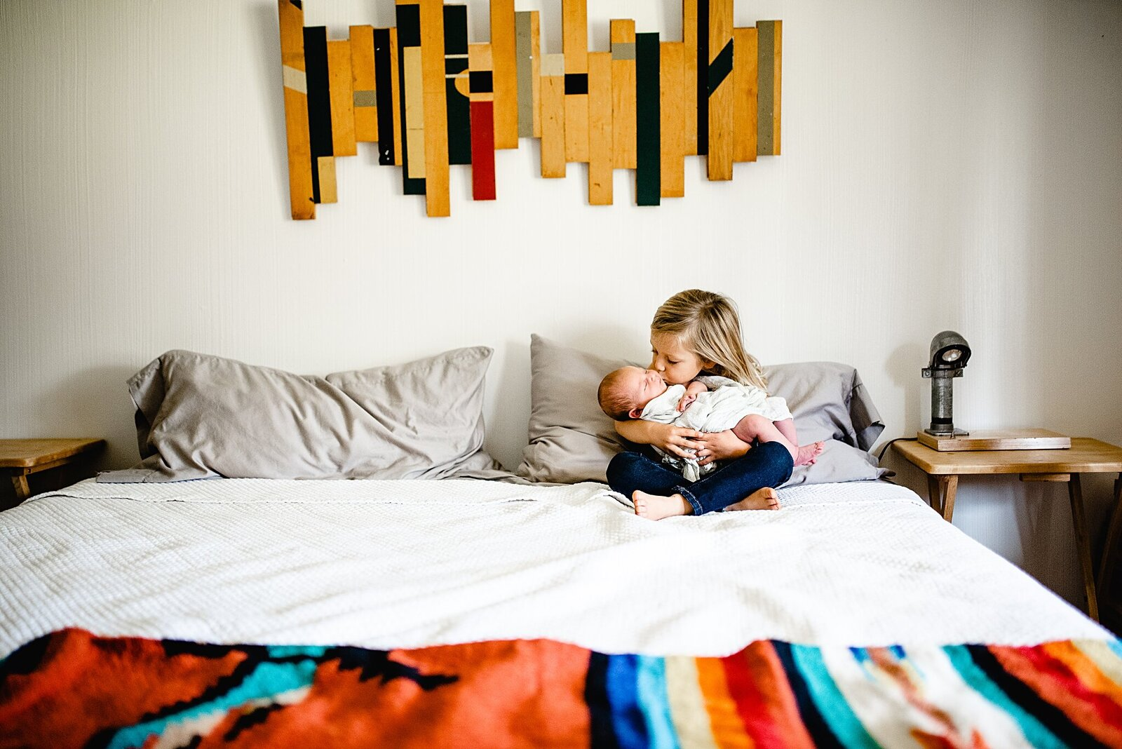 Fort Worth Newborn Lifestyle Photography In-Home Session