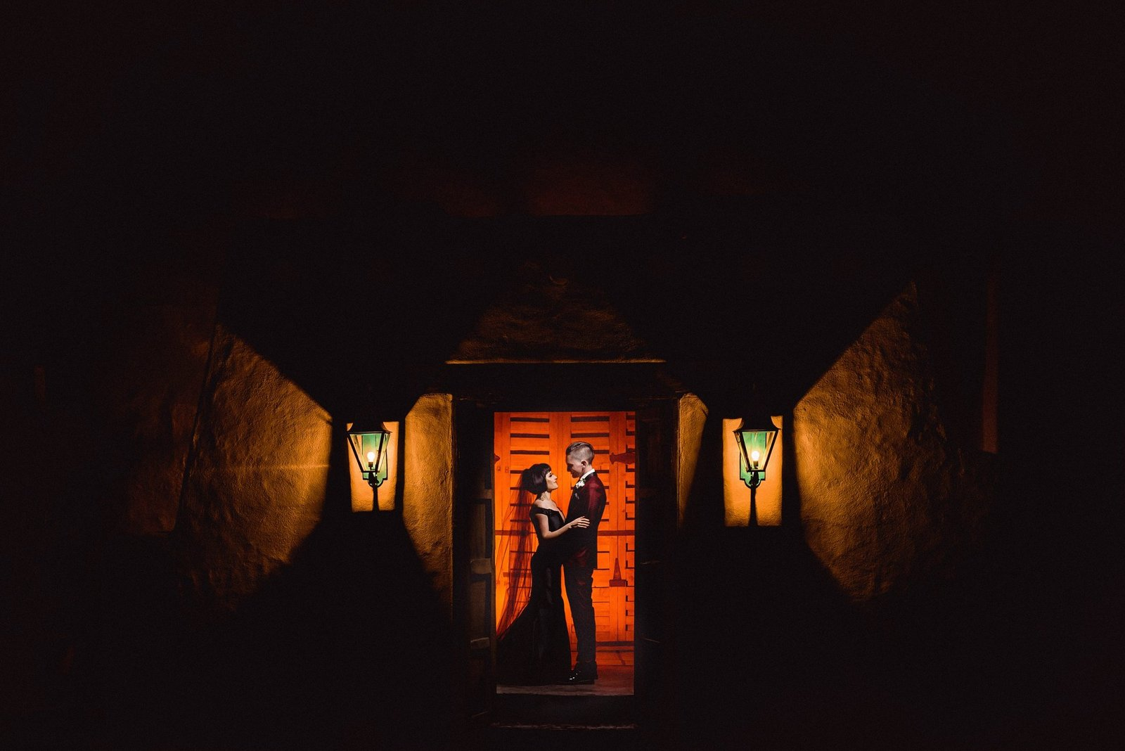 Nighttime Wedding Photography