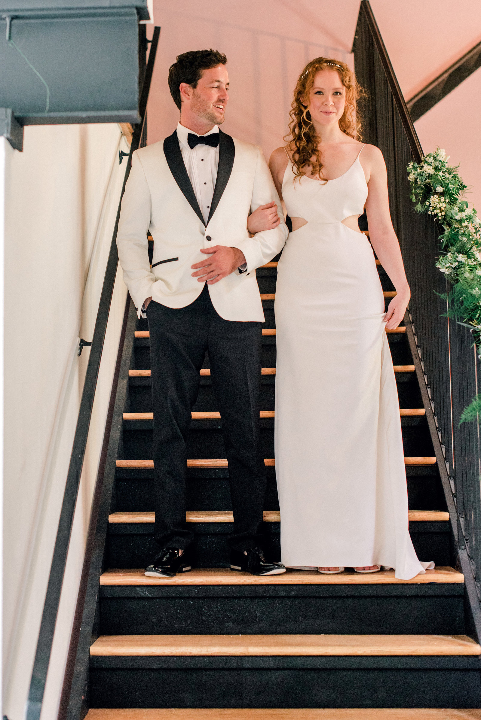 Minimalist Wedding in brooklyn