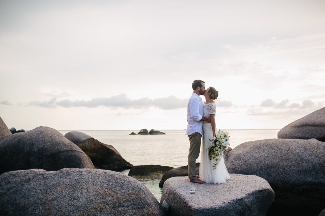 Koh Tao Beach Elopement Wedding