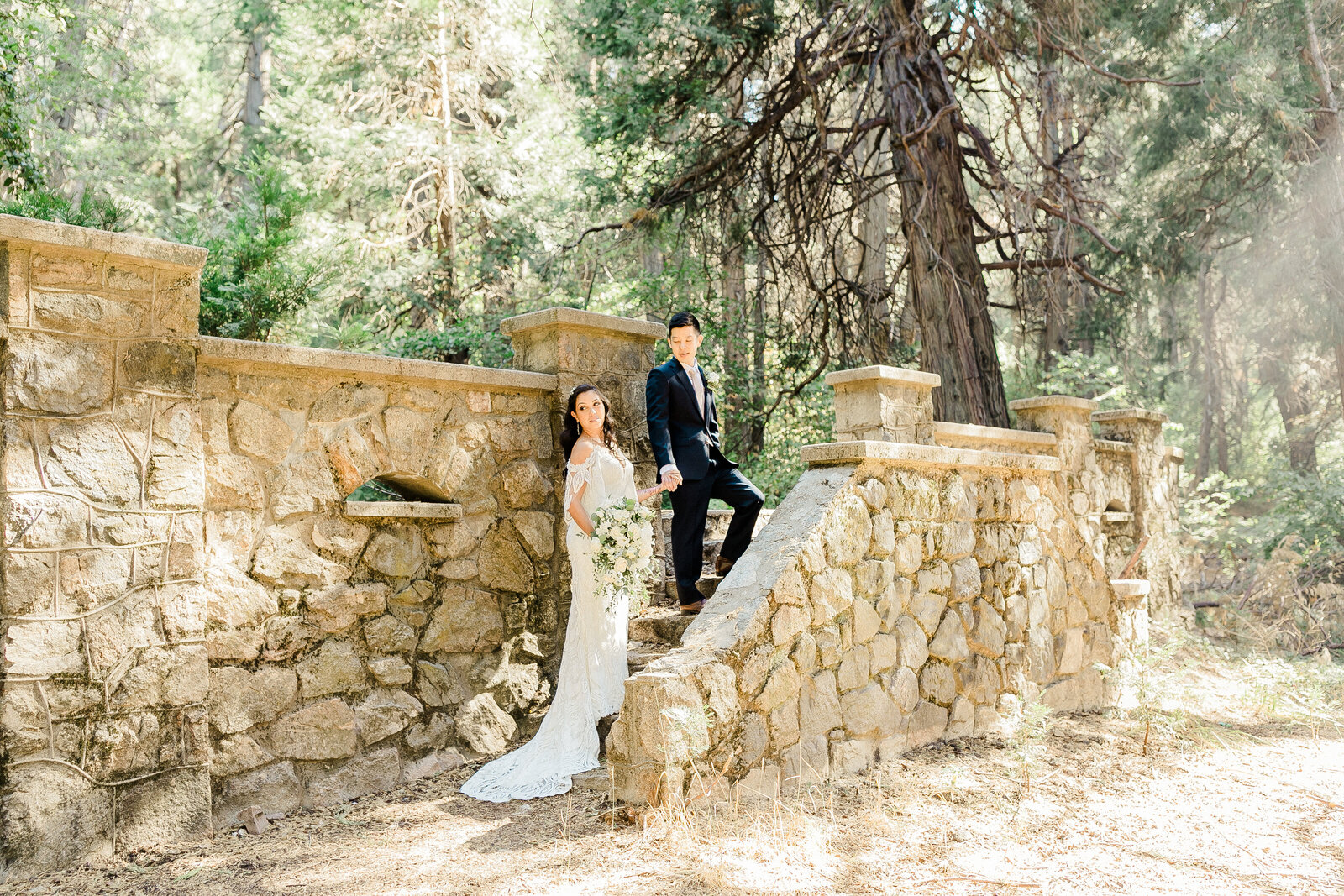 Enchanted forest weddings in lake arrowhead