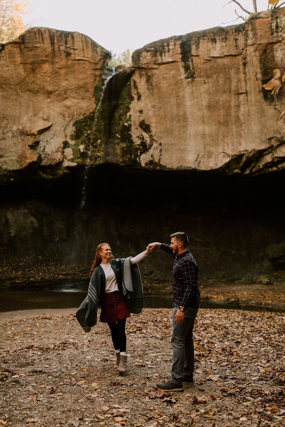 Puppy-Love-engagement-session-williamsport-falls-4