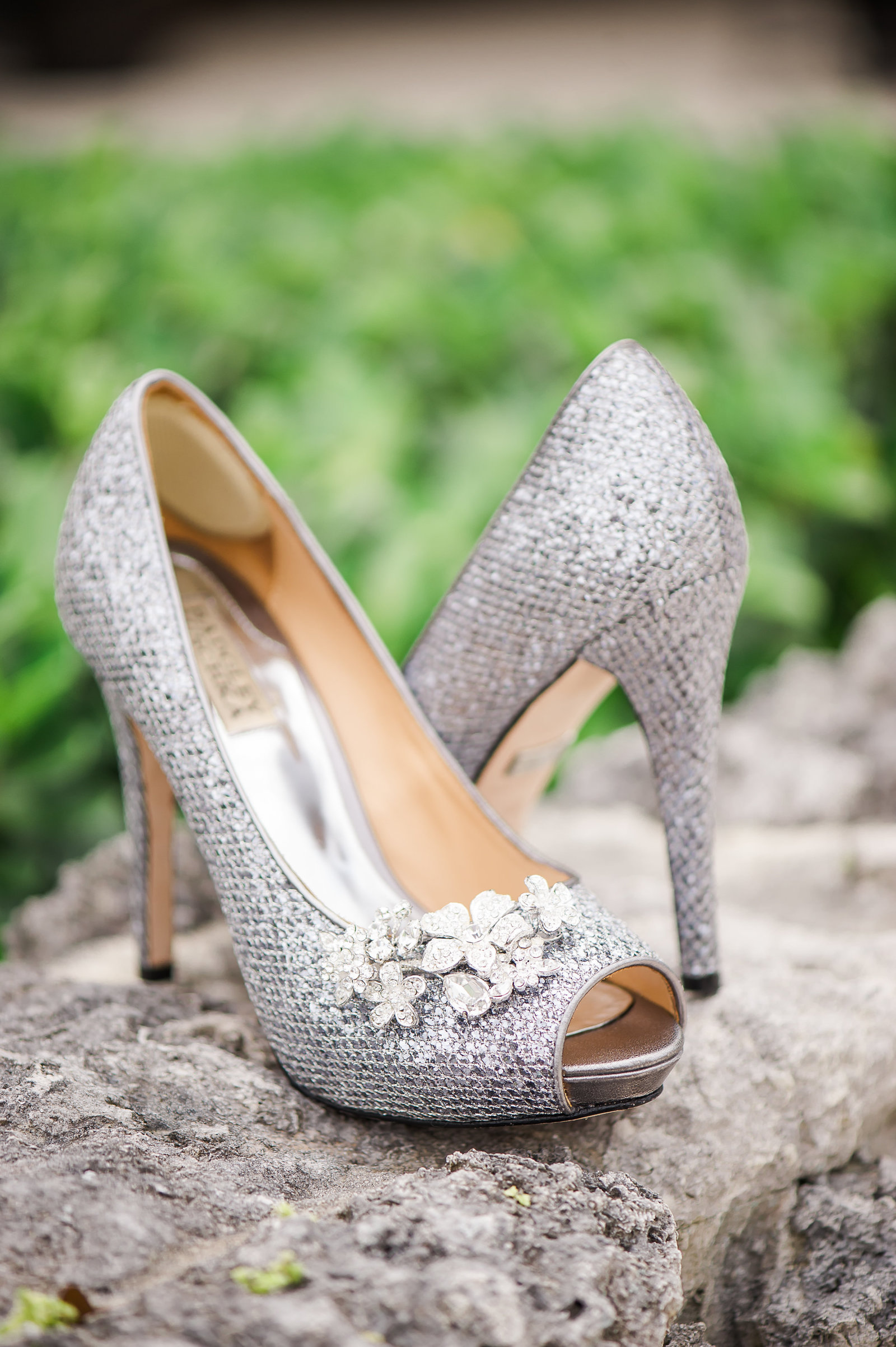 Wedding Shoes - Myacoo Country Club Wedding - Palm Beach Wedding Photography by Palm Beach Photography, Inc.