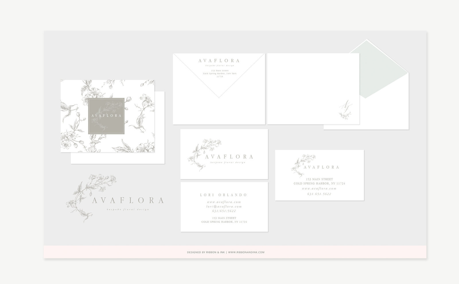 brand-design-florist-logo-branding-for-creatives-bespoke-floral-design-new-york-avaflora-stationery