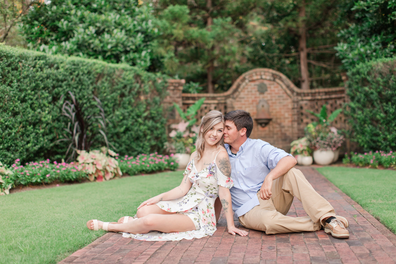 Jennifer B Photography-Sandhills Horticultural Gardens Engagement-Pinehurst NC-Cody and Kayla-2019-0147