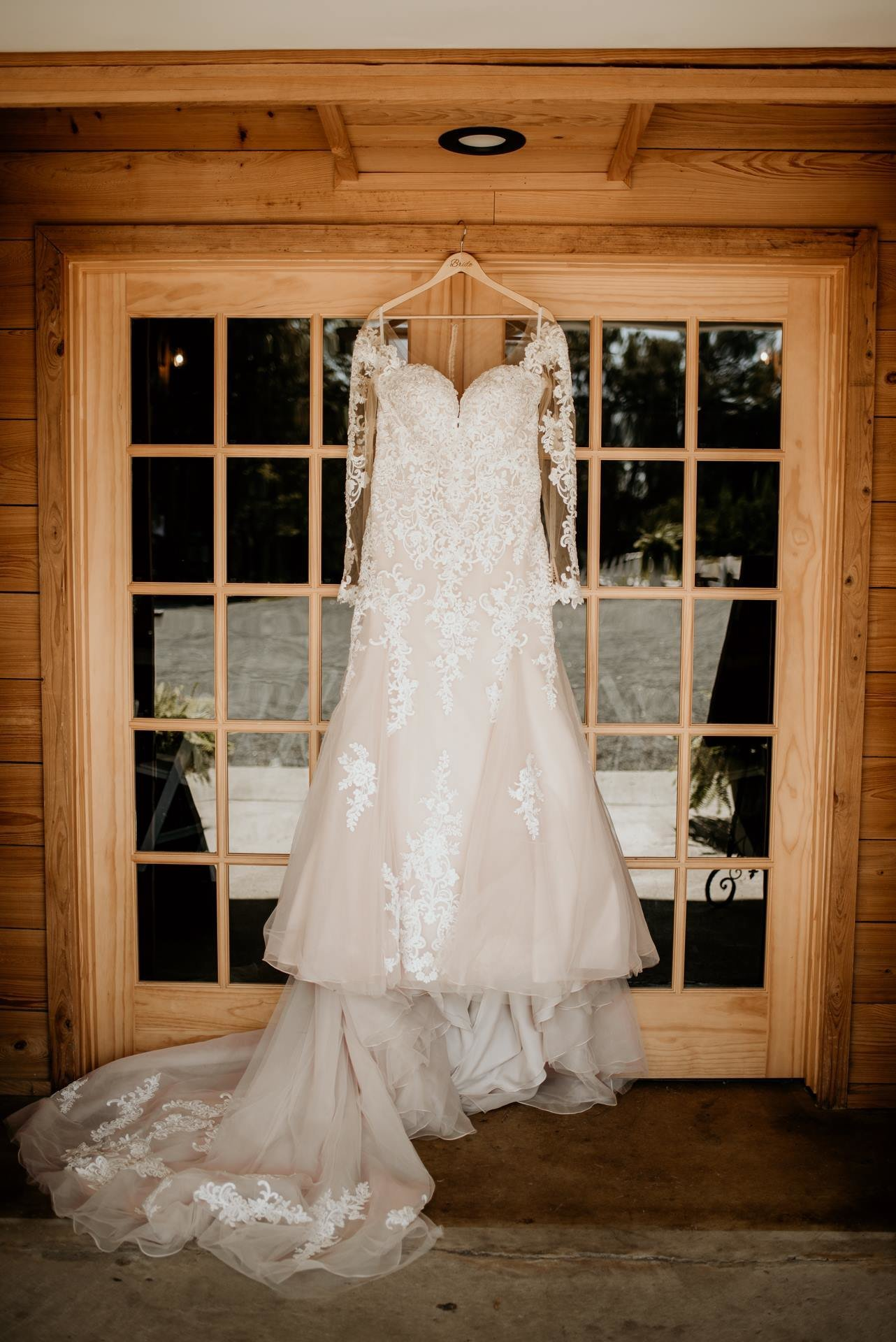wedding dress for bride in North Little Rock / Kylie Farm Photography