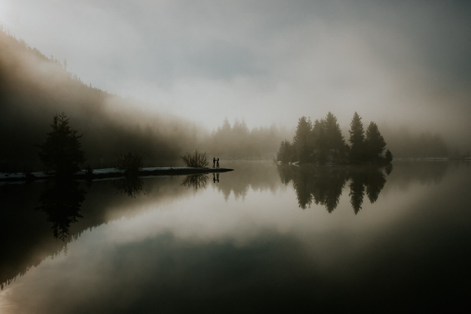 misty lake dance
