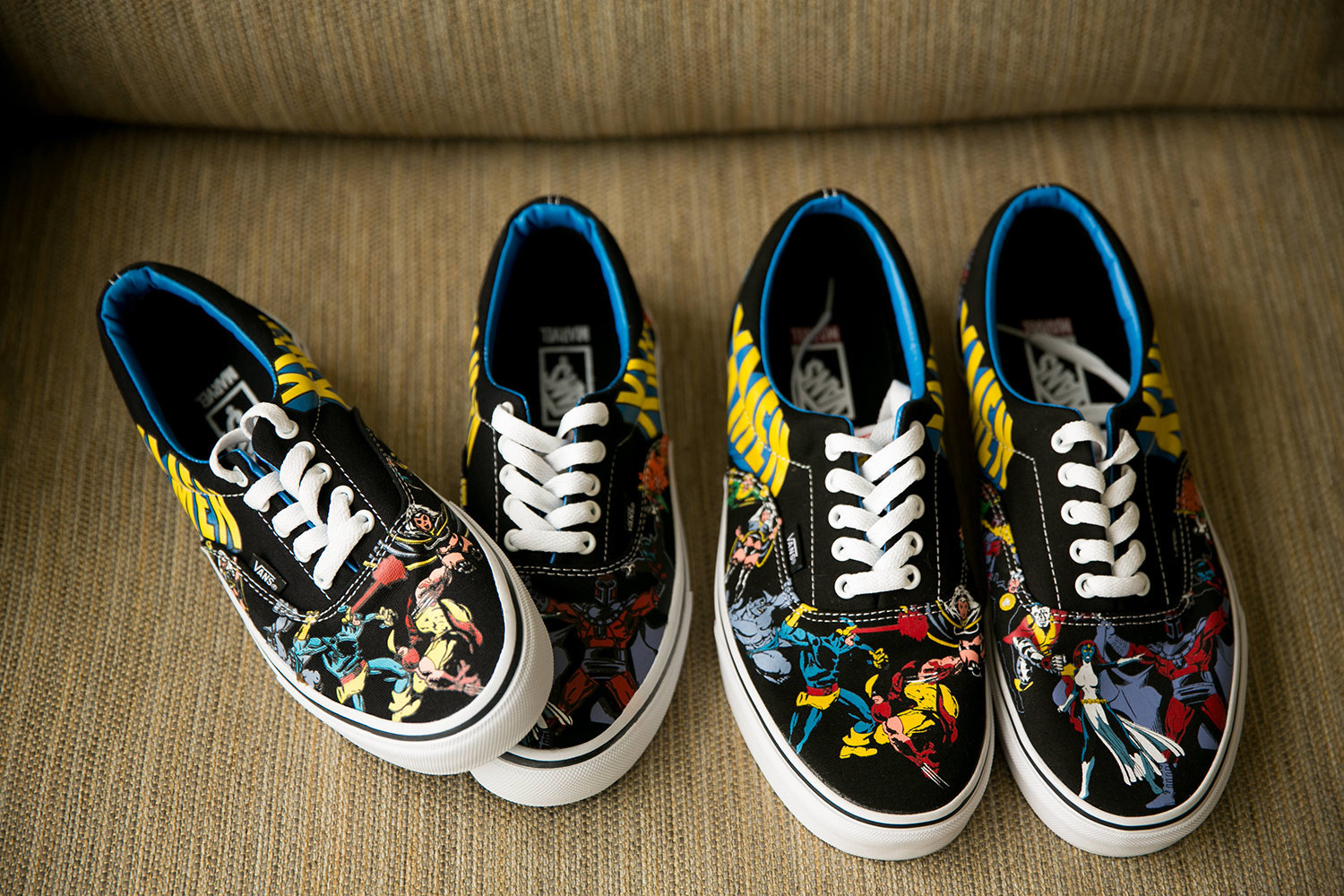 Custom Comic Shoes for Wedding