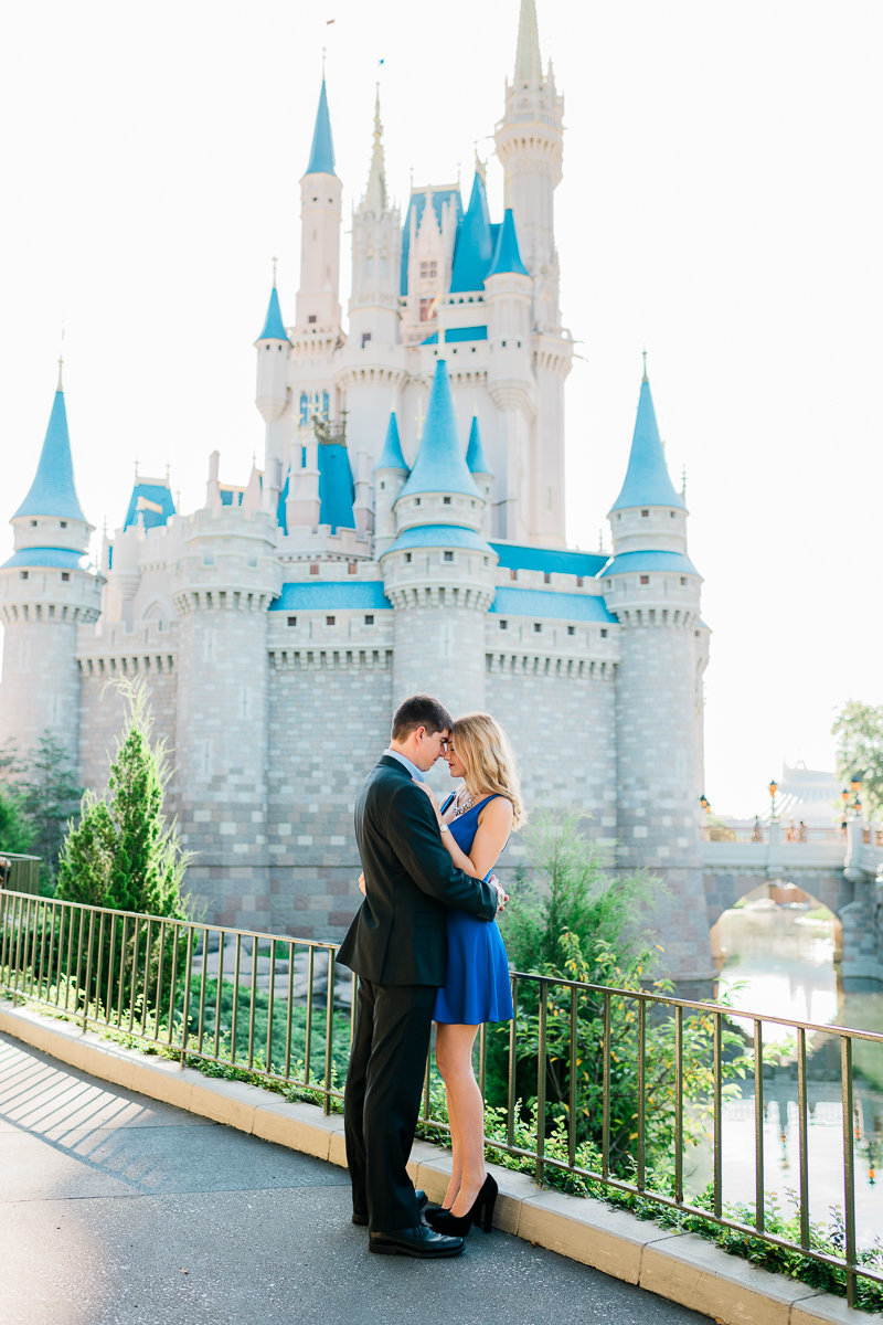 Orlando Engagement Photographer | Disney Magic Kingdom Engagement Session | Enagement at Disney-3