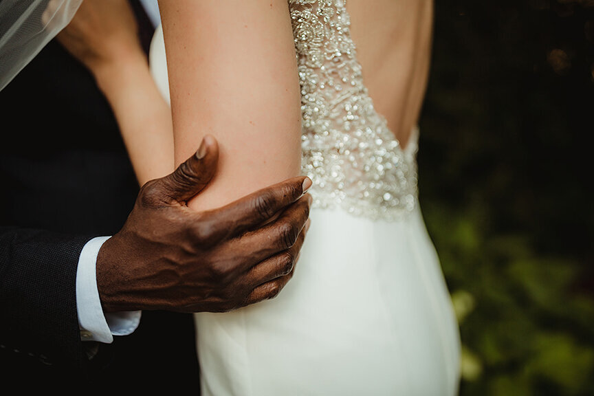 interracial wedding photography