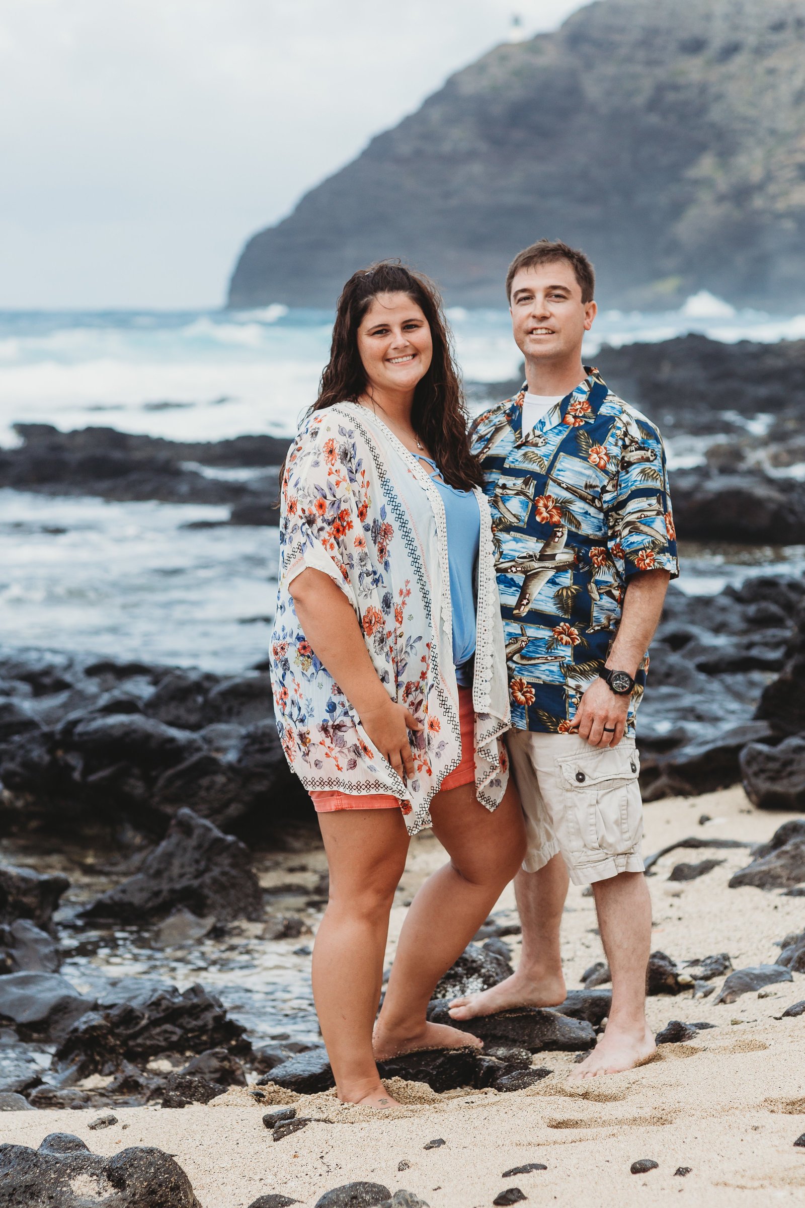 Makapuu Beach Couples Photo Shoot Beach Photo Shoot Brooke Flanagan Photography-5
