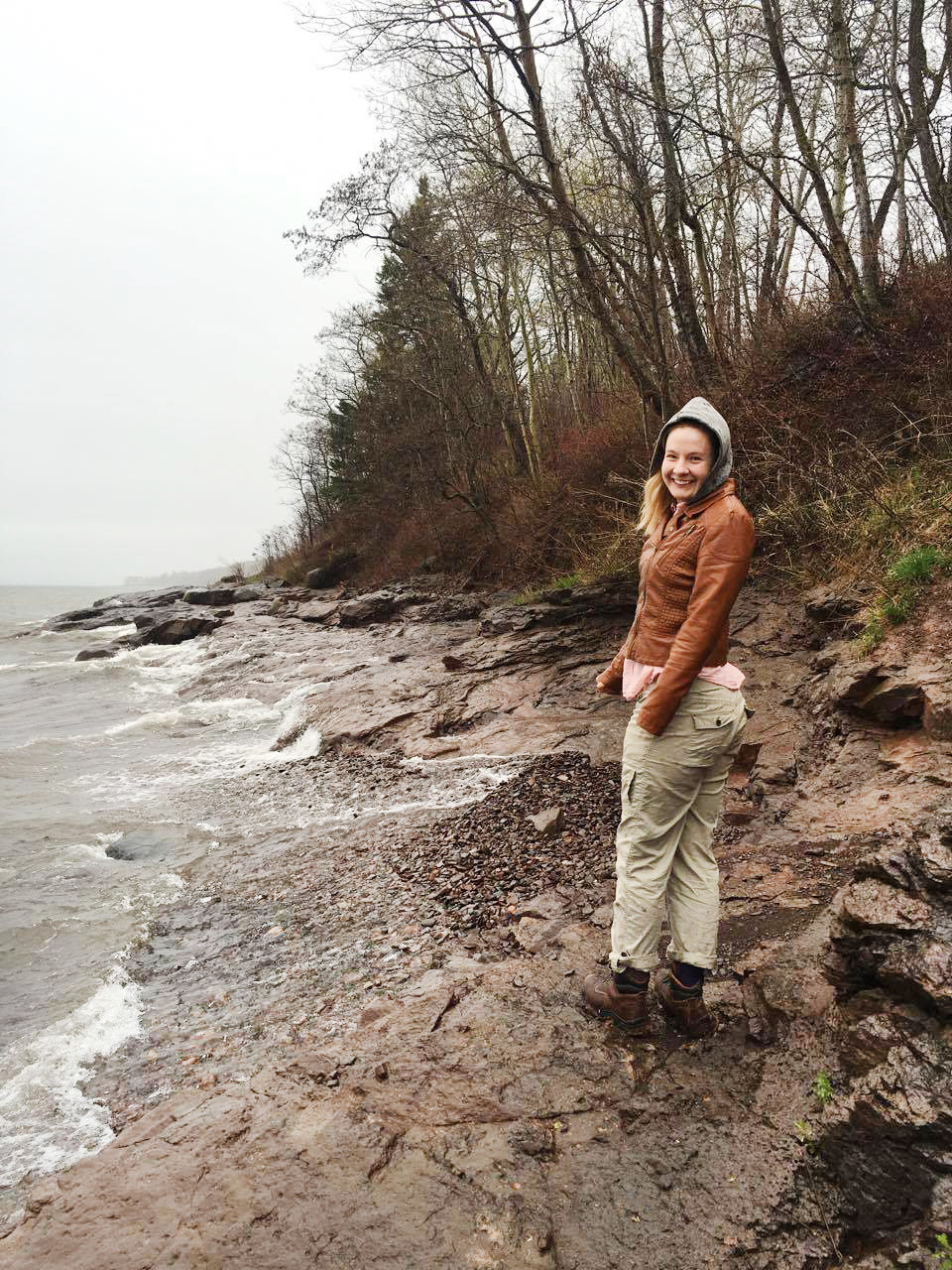 Hiking the Shores of Lake Superior