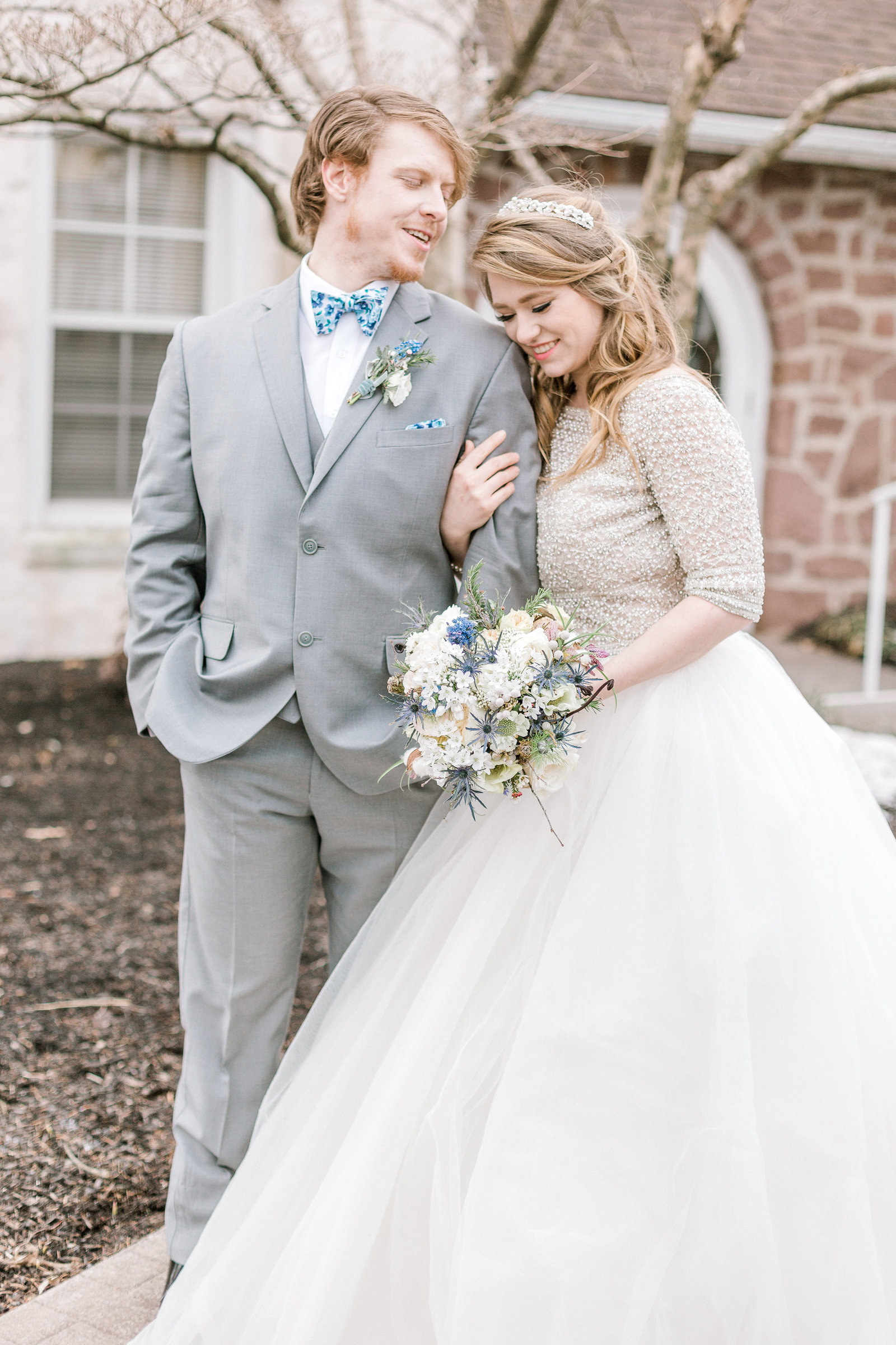 Dusty Blue Winter Wedding at Barn and Hill Reading PA Lehigh Valley wedding and lifestyle photographer Lytle Photo Co (171 of 218)