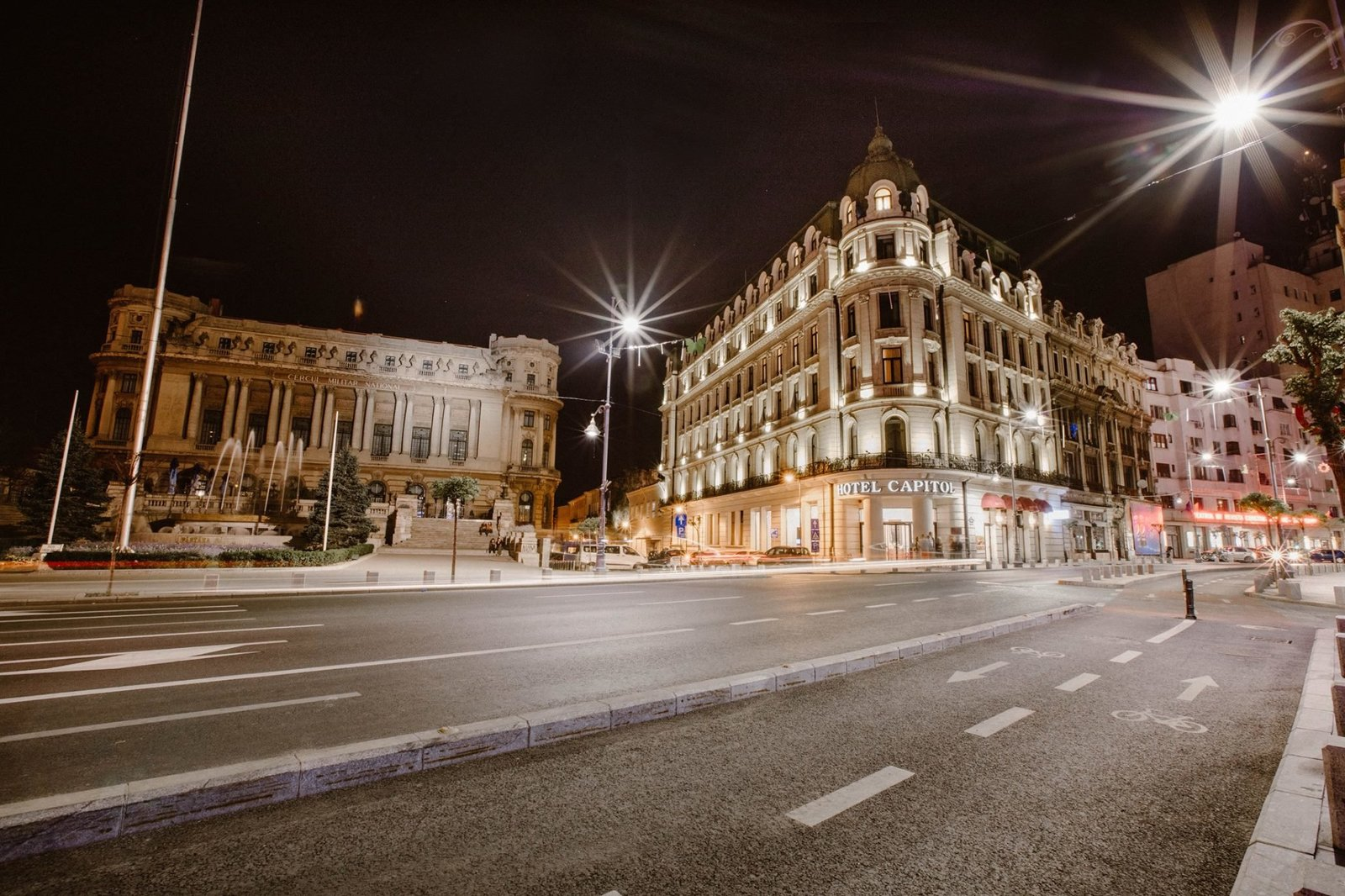 Bucharest at Night - Small file -2
