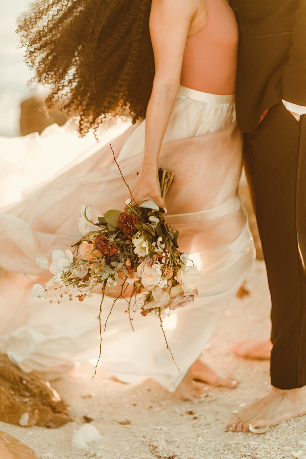 Celestial wedding inspiration_ beach elopement style-118