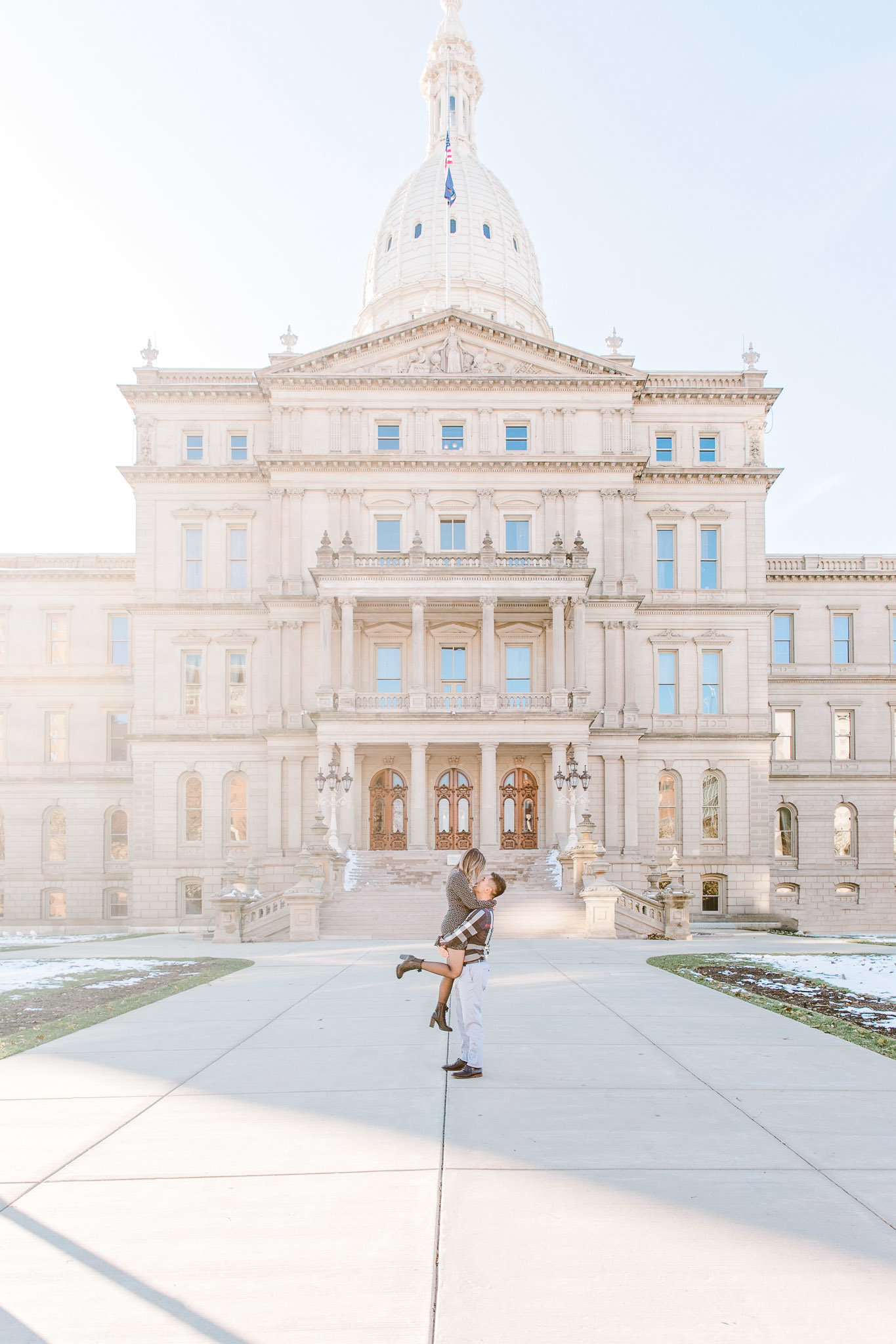 Michigan Capitol Building engagement